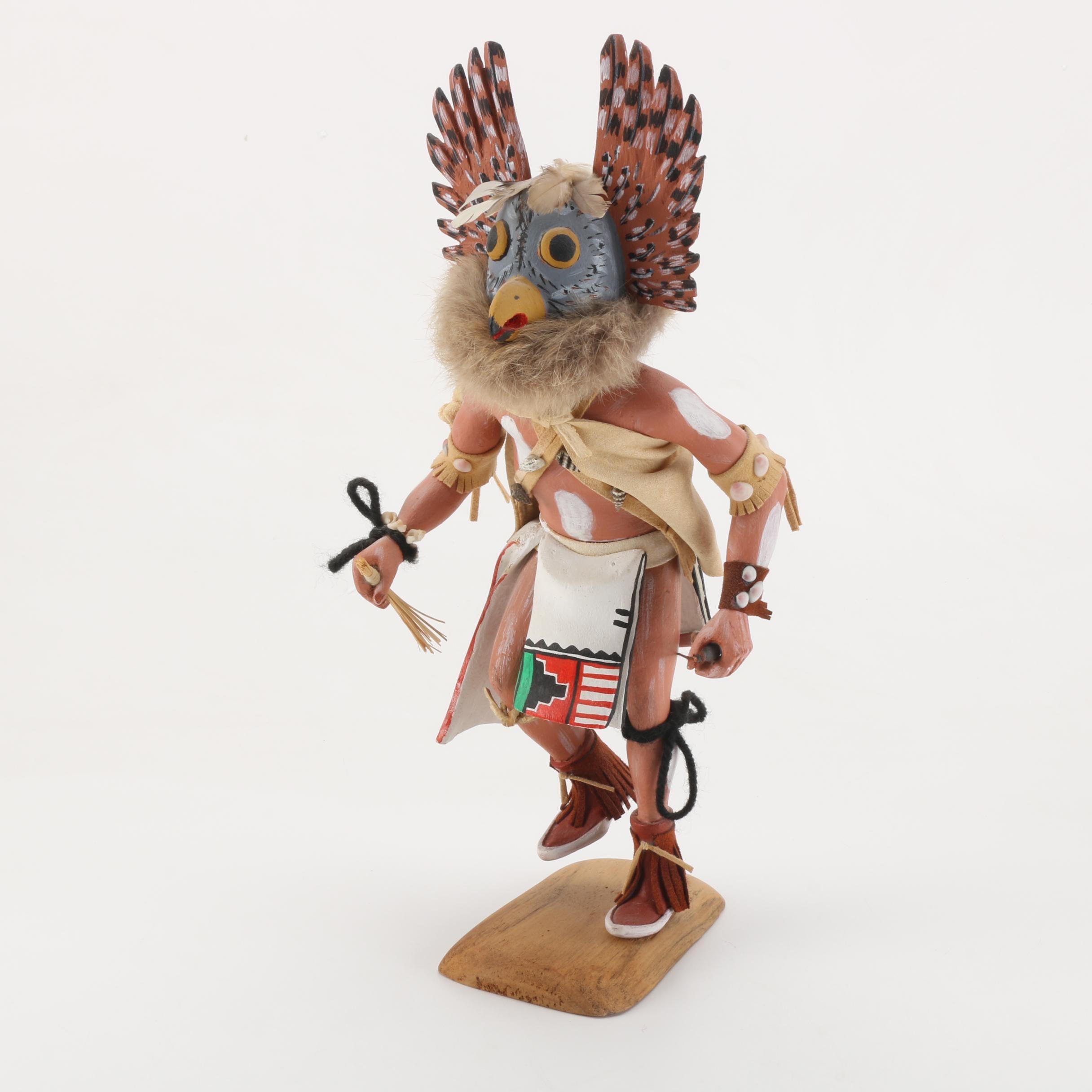 "Pershing Tewawina ""Eagle Dancer"" Hopi Kachina Doll"