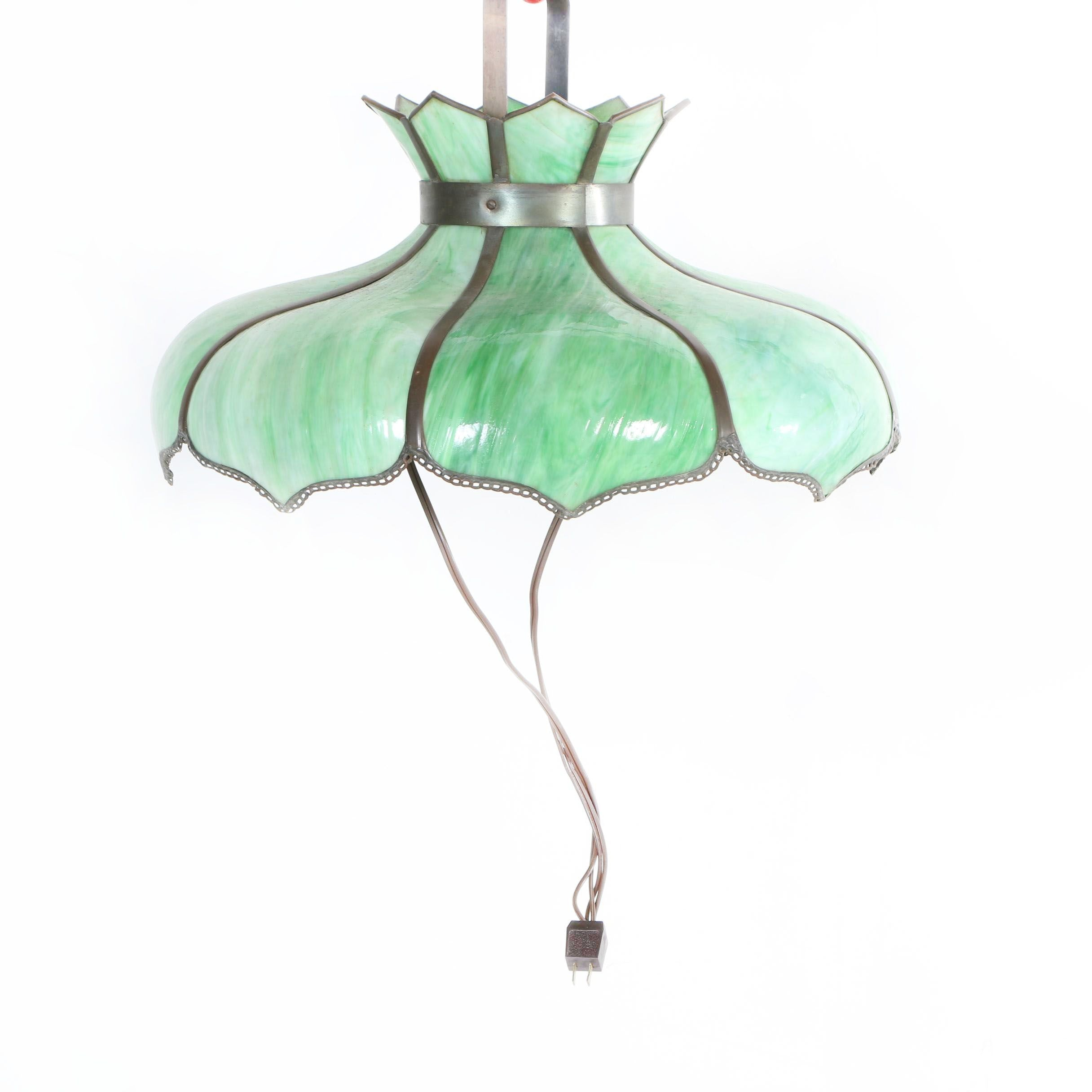 Tiffany Style Stained Glass Pendant Light