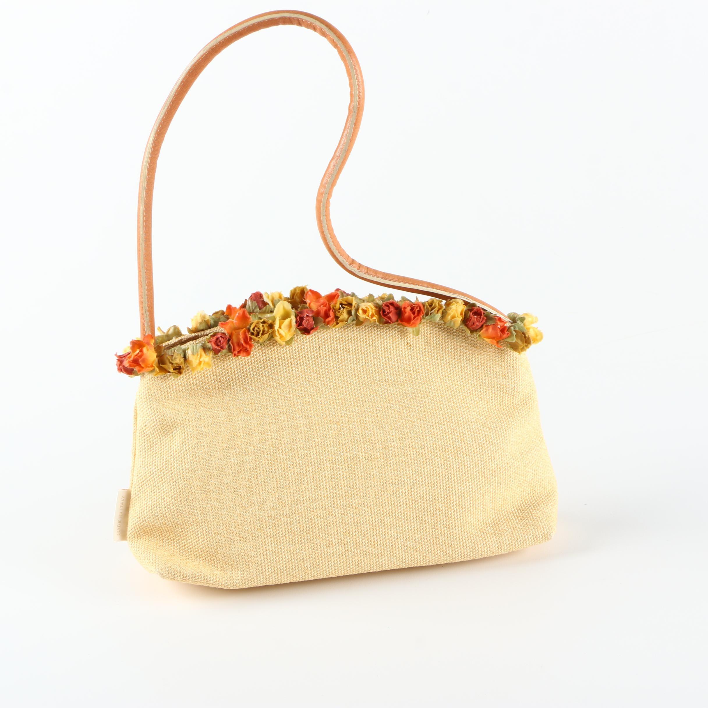Desmo Woven Handbag