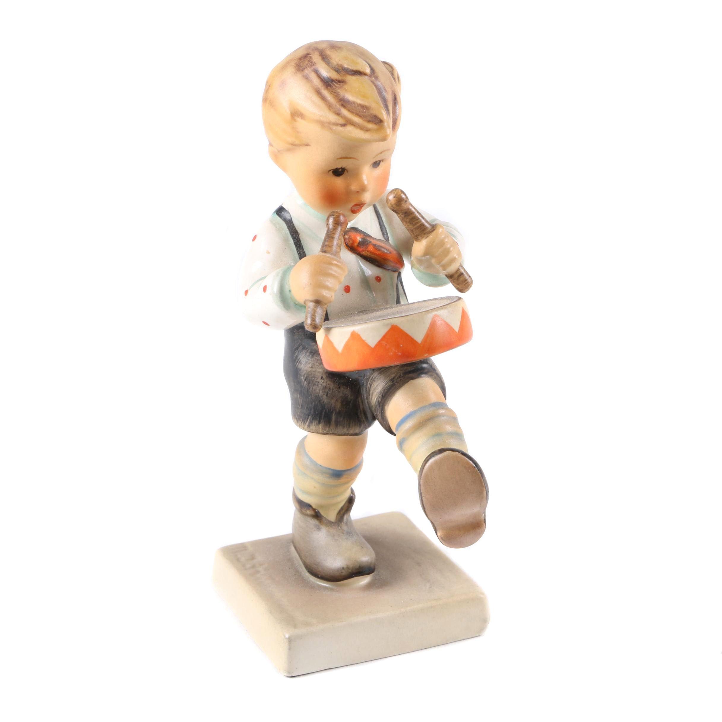 """Vintage Hummel """"Little Drummer"""" Porcelain Figurine"""