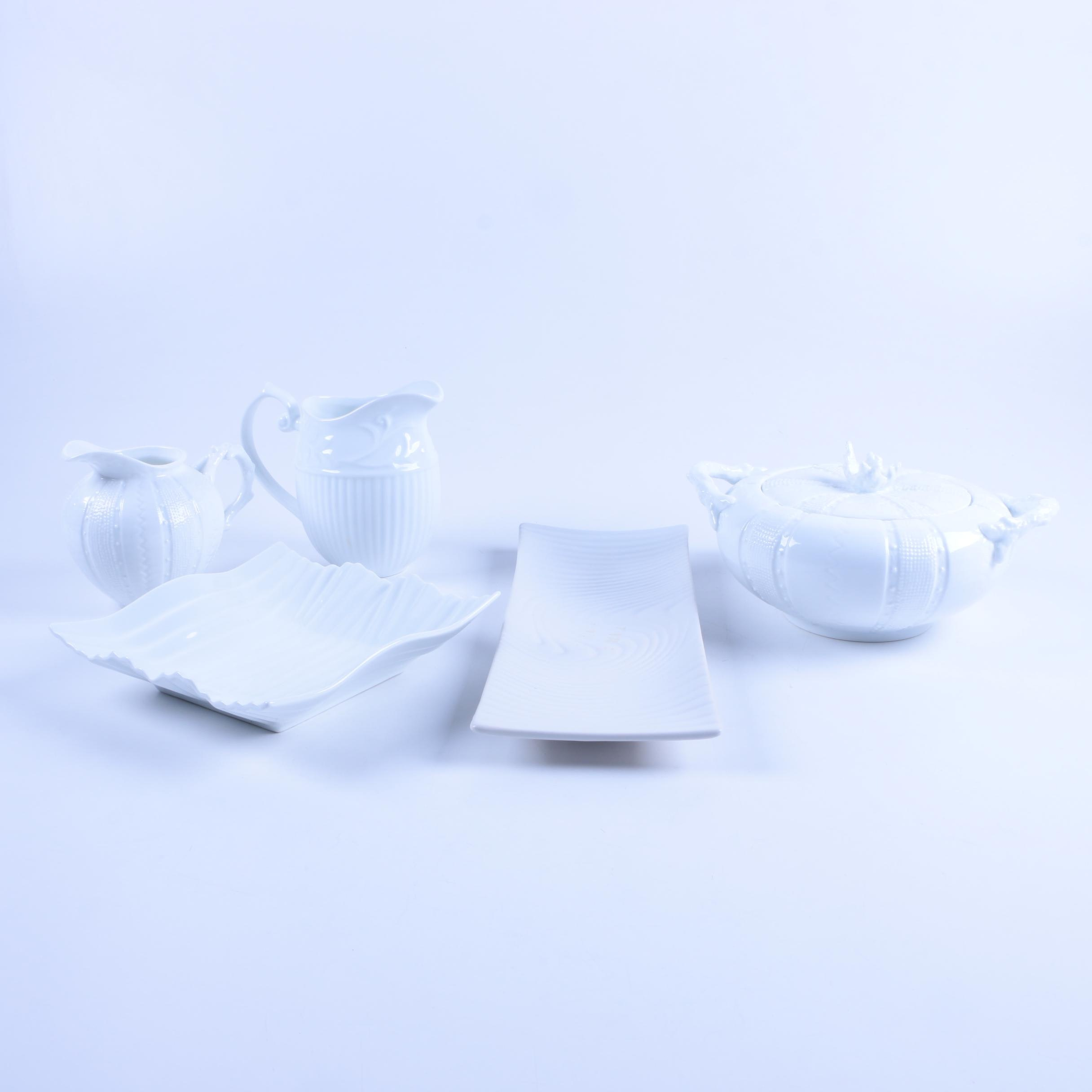 Peppertree and Paris Royal Tabletops Fine Porcelain Serveware