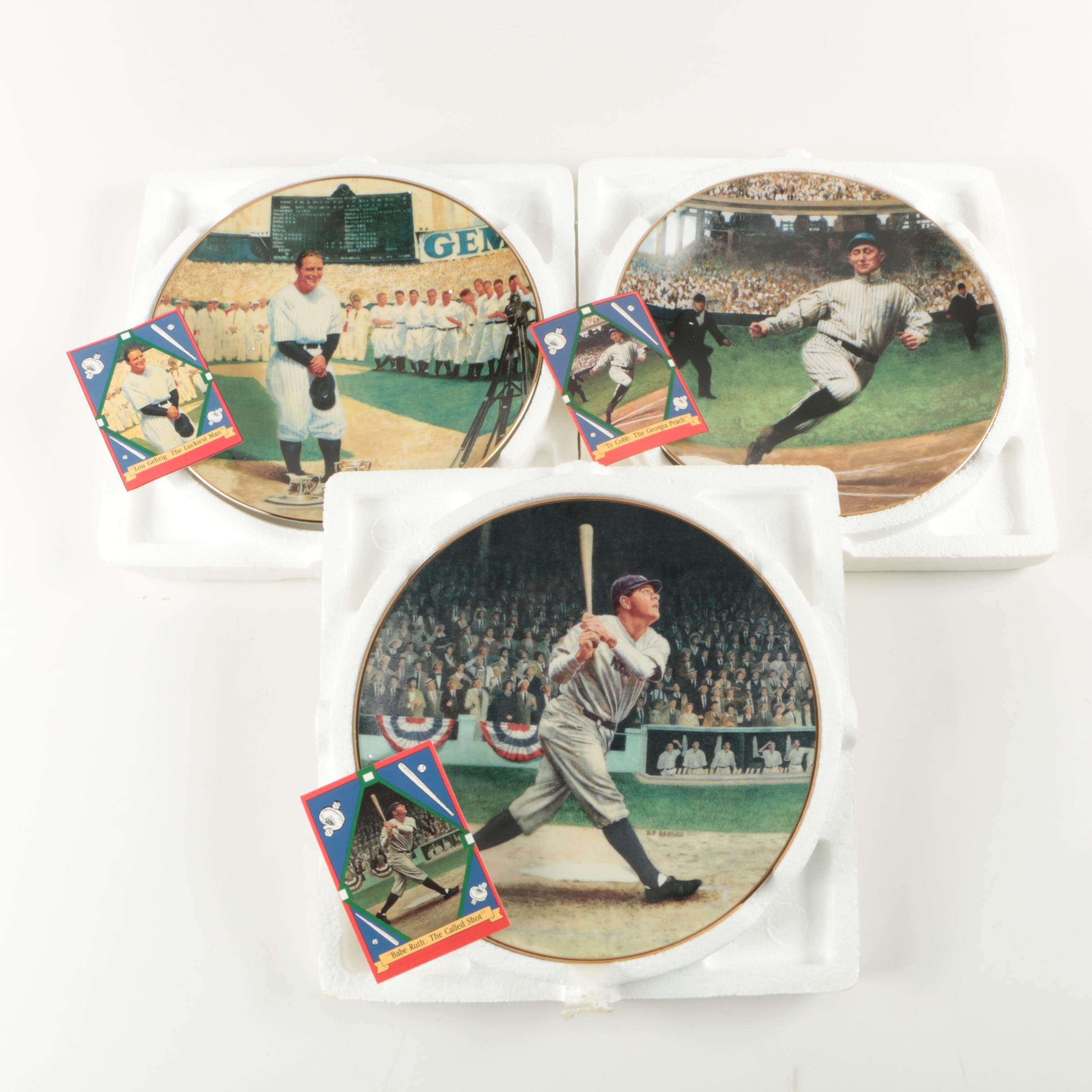 "Delphi ""The Legends of Baseball"" Plates"