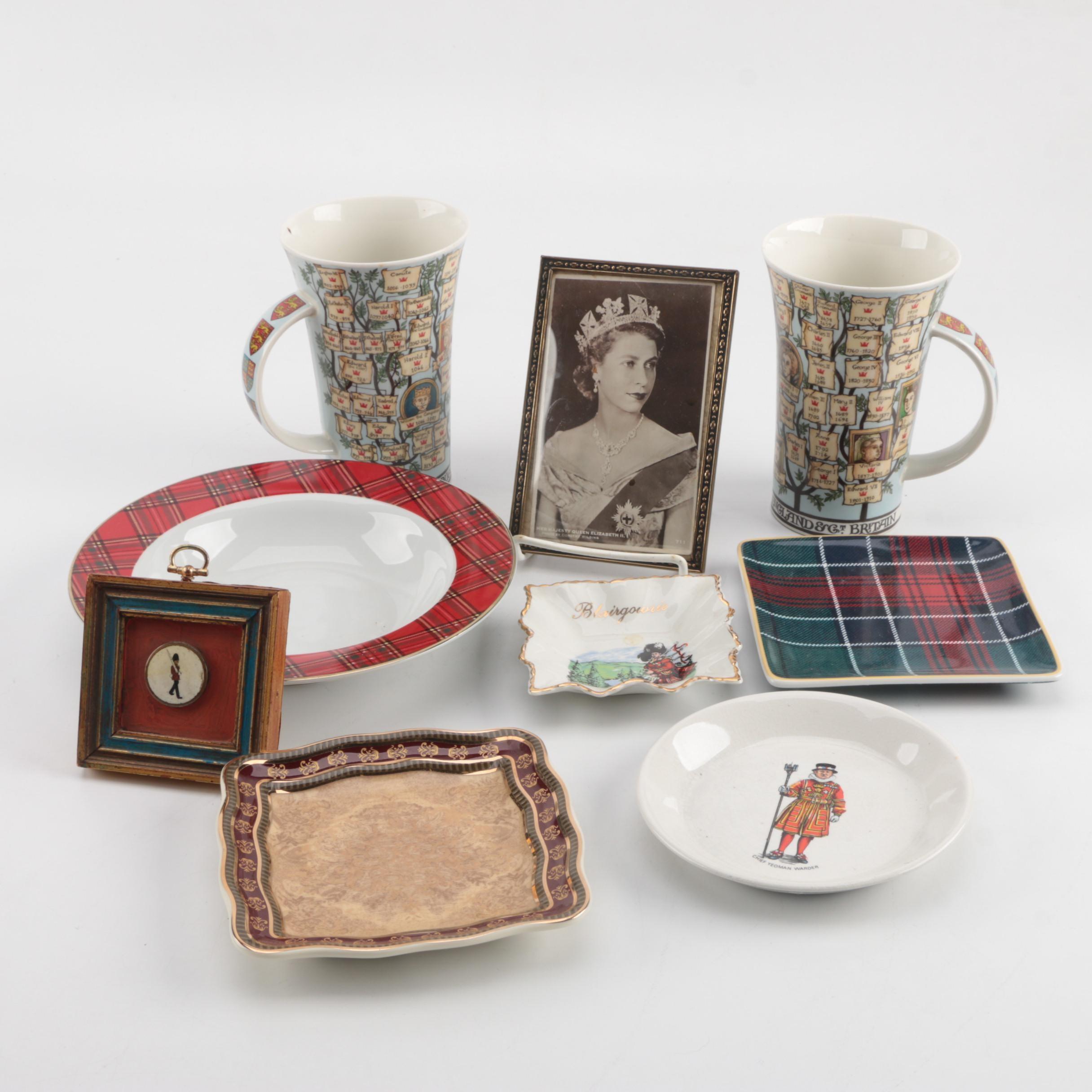 Great Britain Themed Ceramics