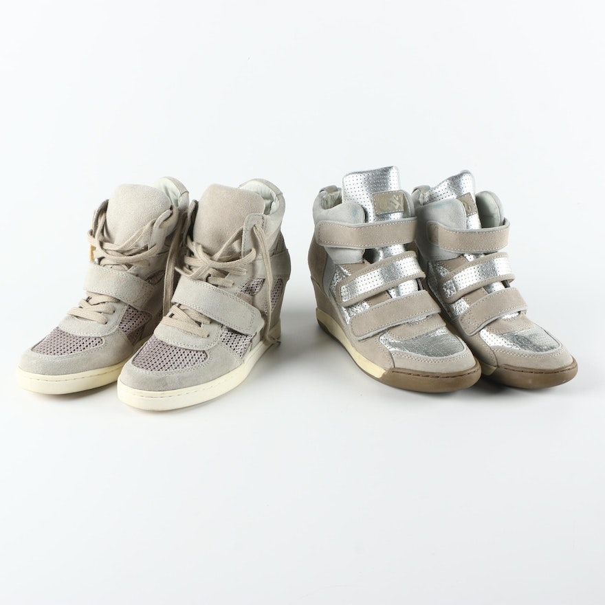 6e917193ae72 Ash Alex Bis and Bowie Wedge Sneakers   EBTH