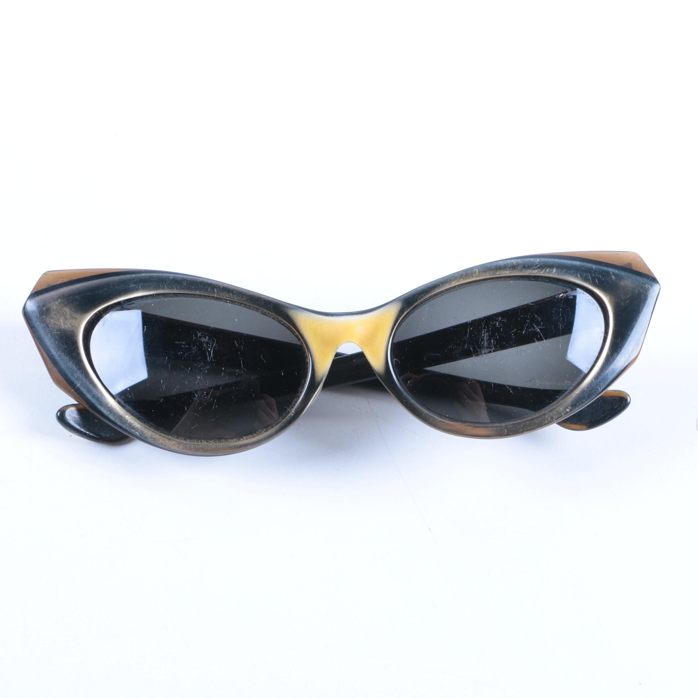 Vintage 1950s B & L Ray-Ban Marche Sunglasses