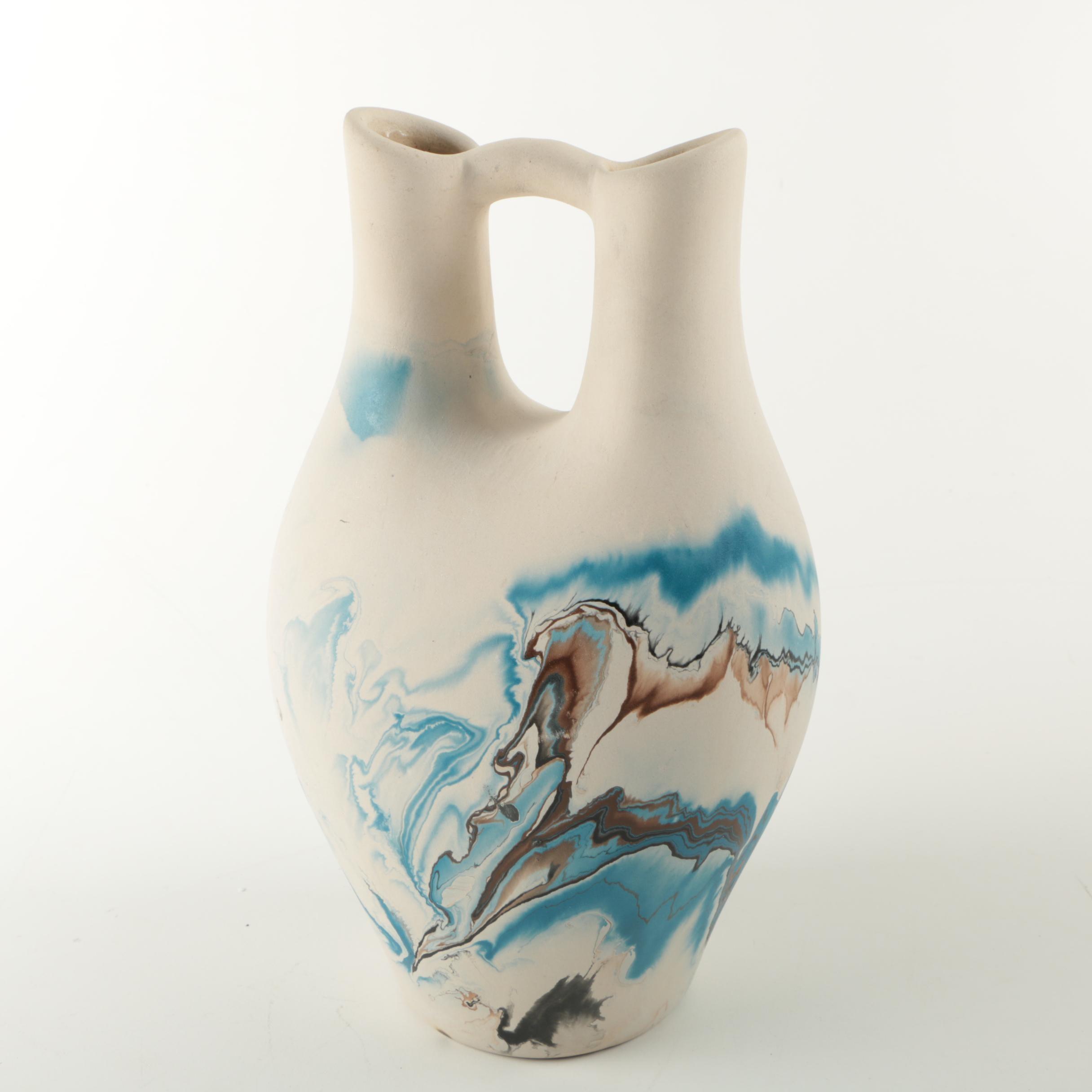 Nemadji Pottery Wedding Vase