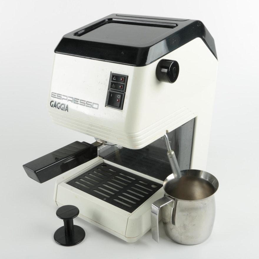 gaggia espresso machine ebth. Black Bedroom Furniture Sets. Home Design Ideas