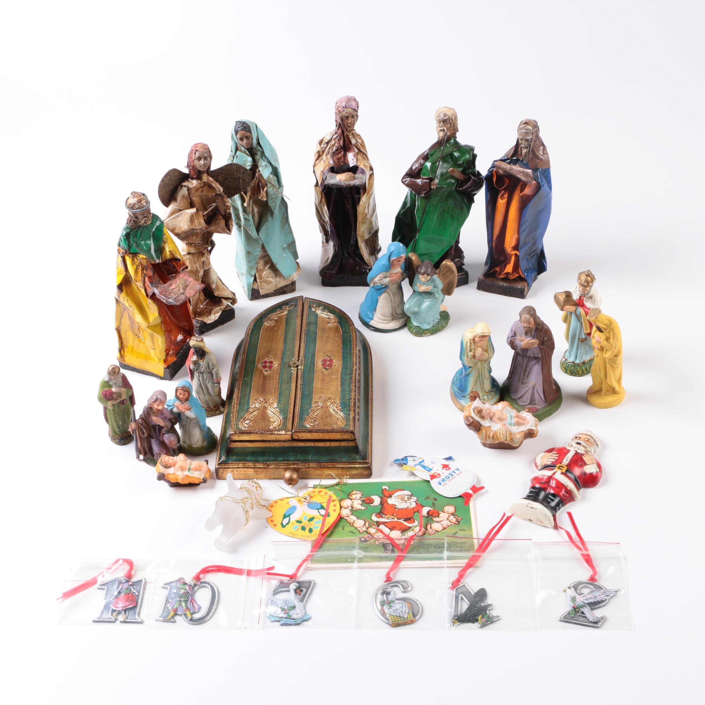Christmas Figurine and Decor Collection