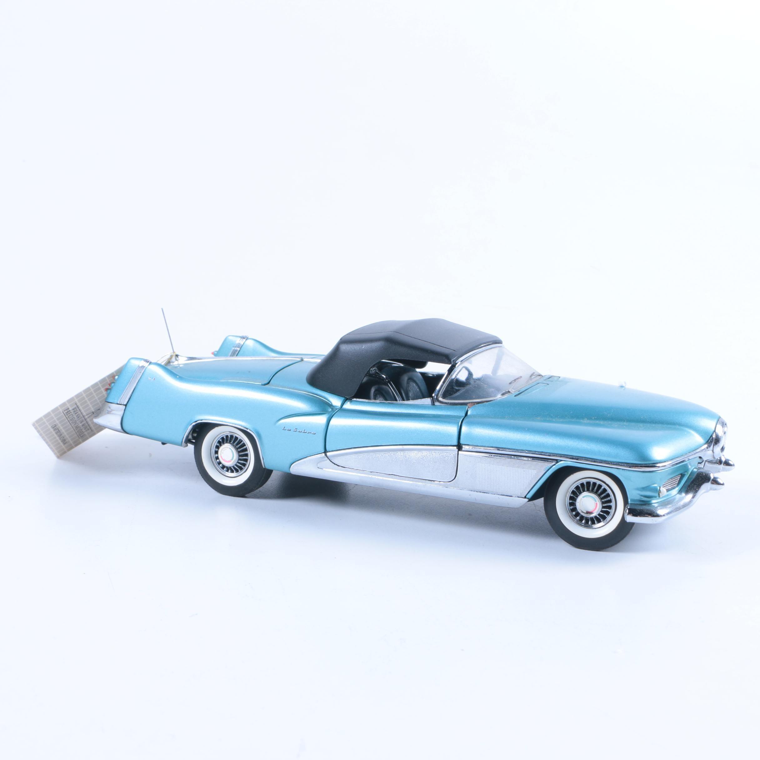 1:24 Scale Die-Cast Franklin Mint 1951 Buick Lesabre Show Car