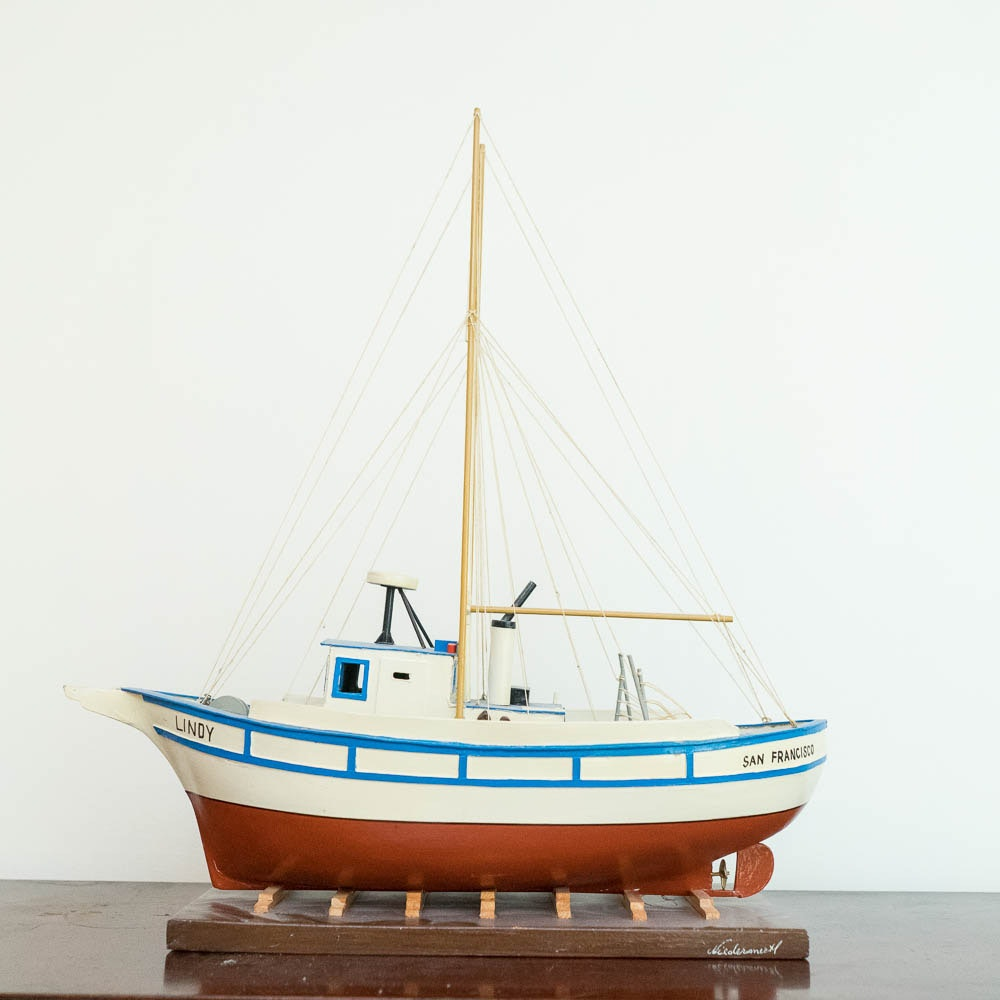 "San Francisco ""Lindy"" Wooden Boat"