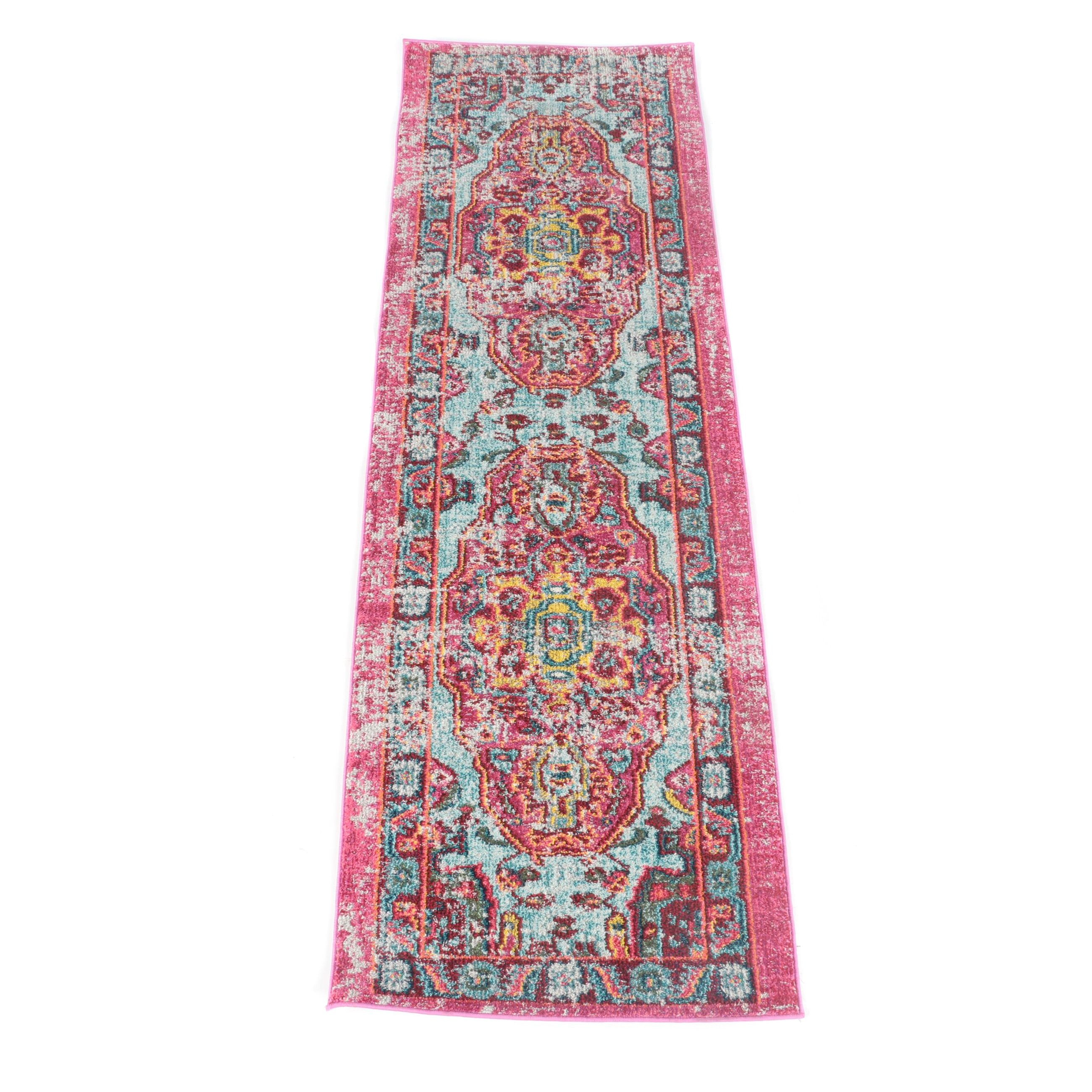 "Power-Loomed Turkish ""Casablanca"" Carpet Runner by nuLoom"