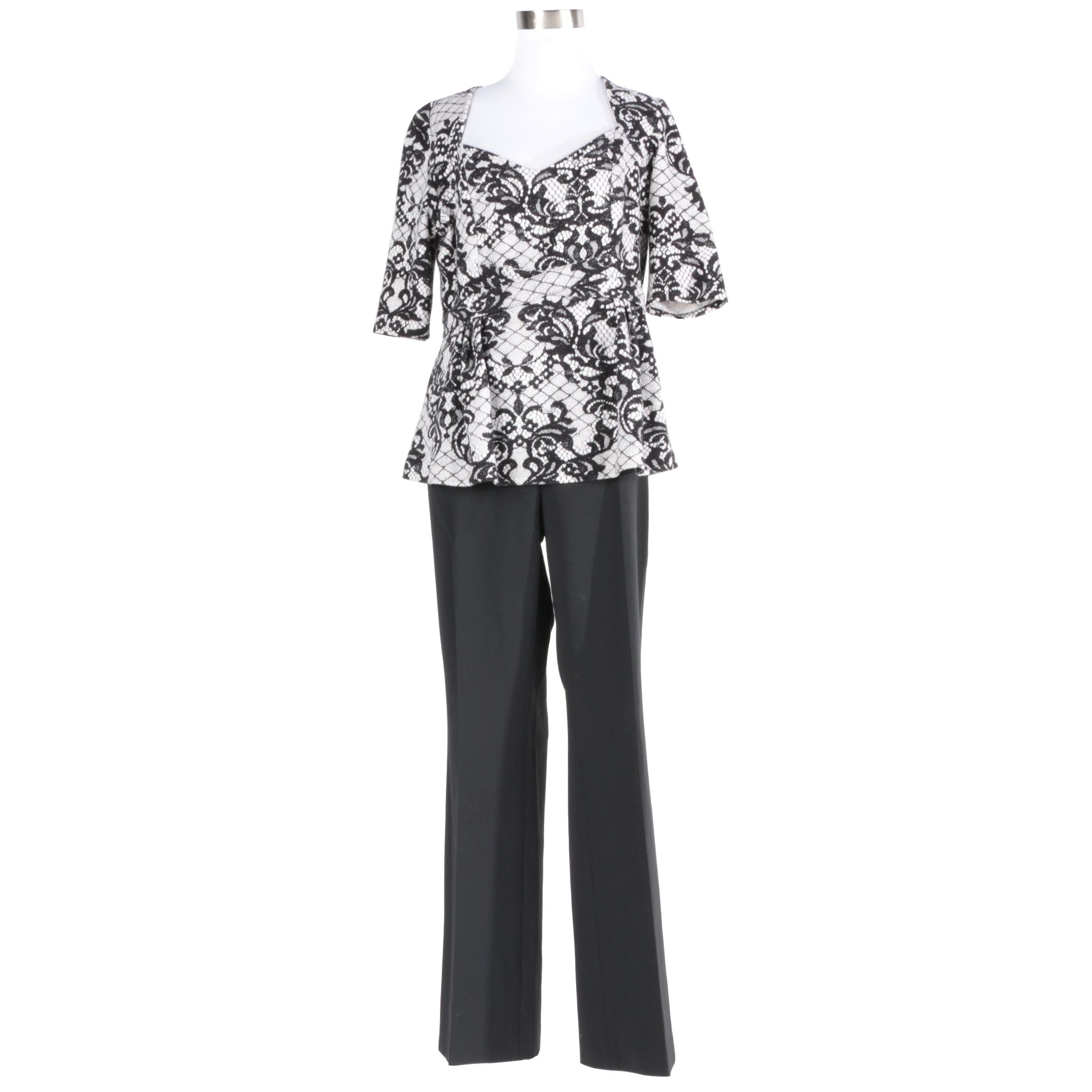 Dress Shirt and Pants Including Anthropologie and Theory