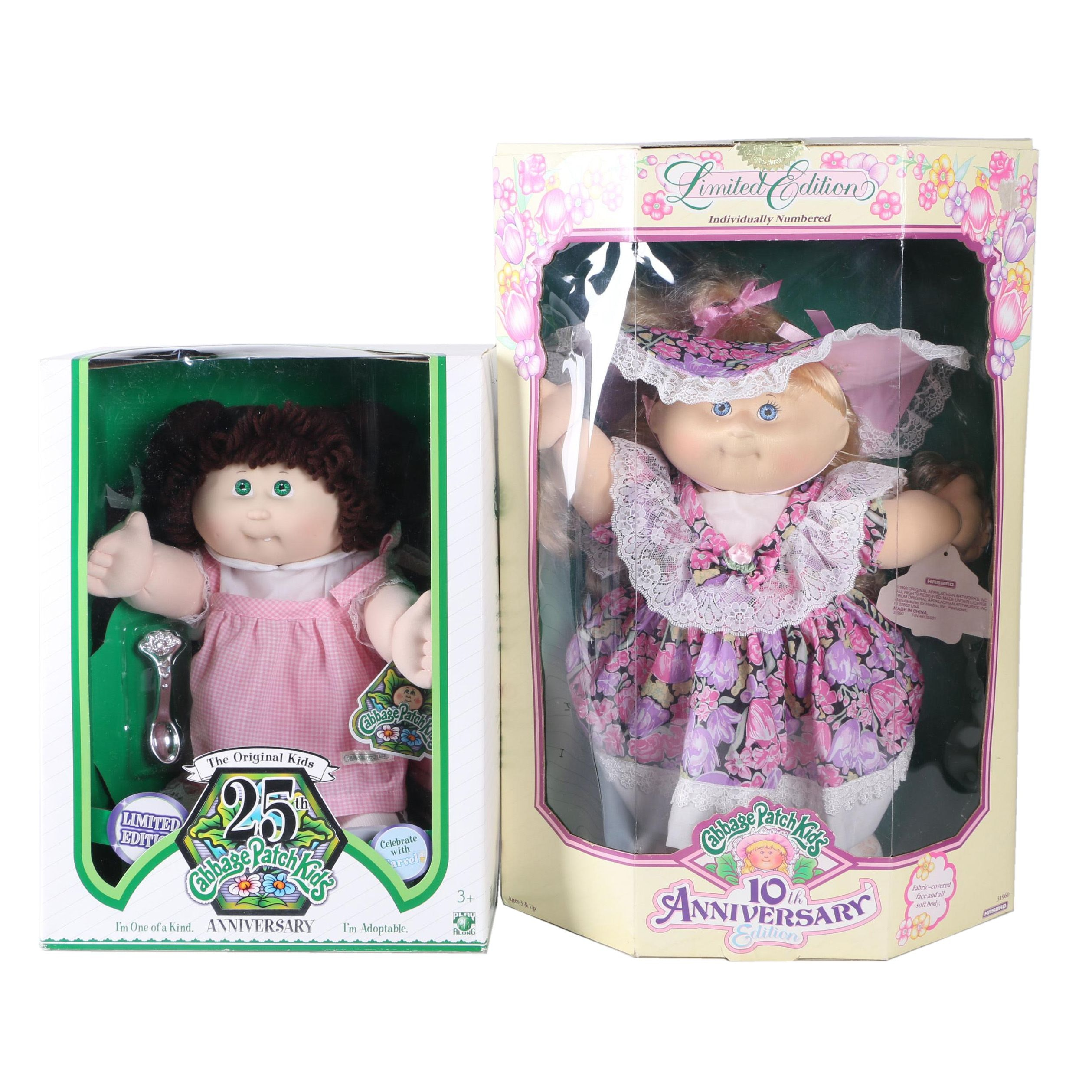 Limited Edition Anniversary Cabbage Patch Kids Dolls