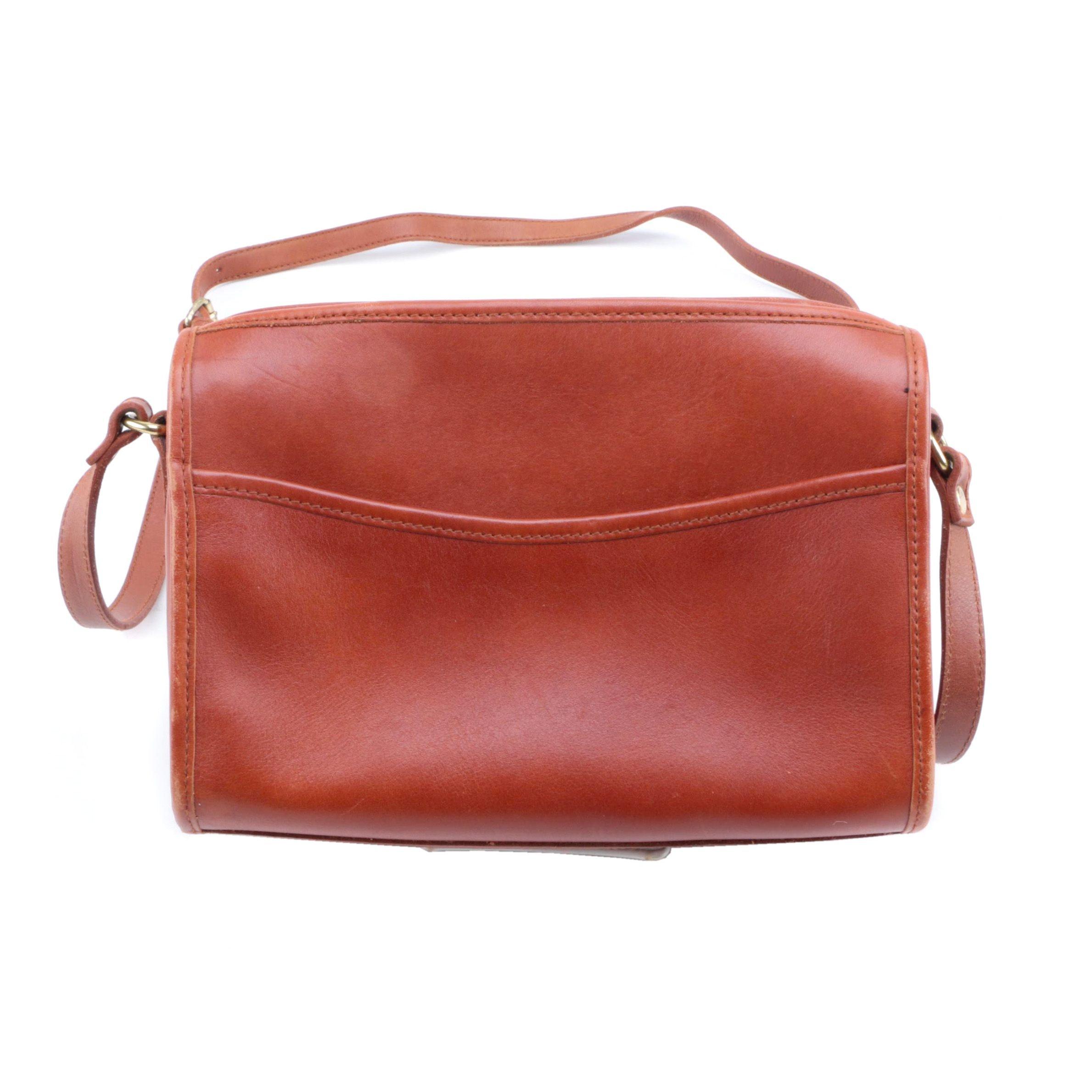 Hunt Club Brown Leather Handbag