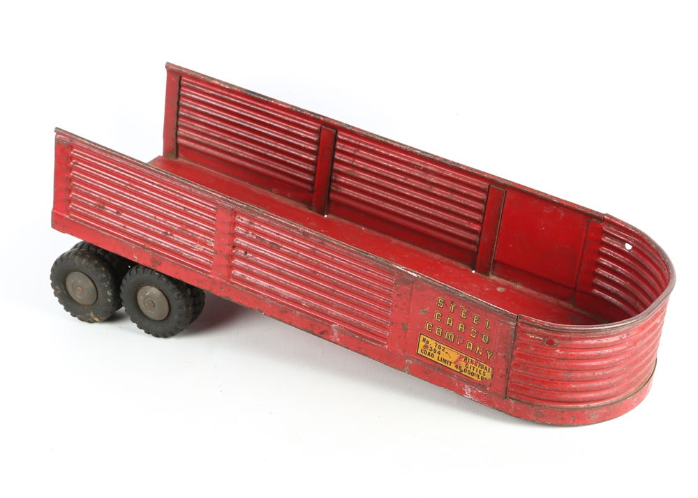 Vintage Tin Model Tractors And Trucks Ebth