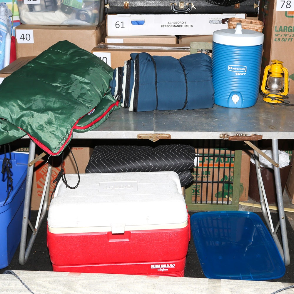 Collection of Camping Supplies