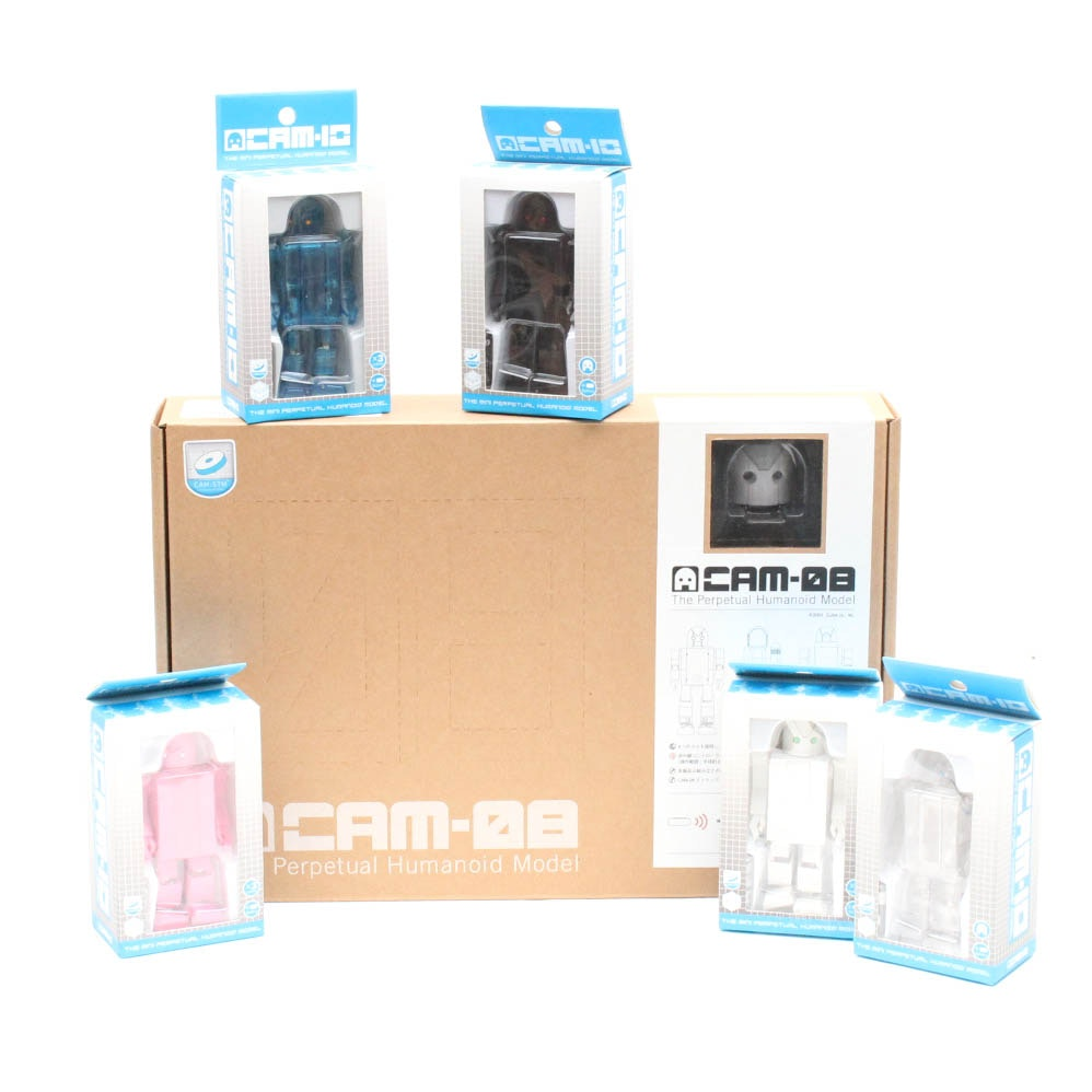 Cube Works CAM-08 and CAM-10 Humanoid Models