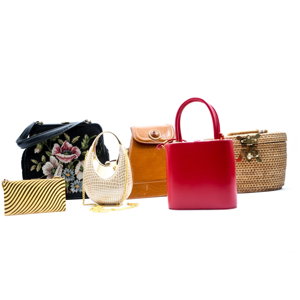 Vintage Eclectic Purses and Clutches