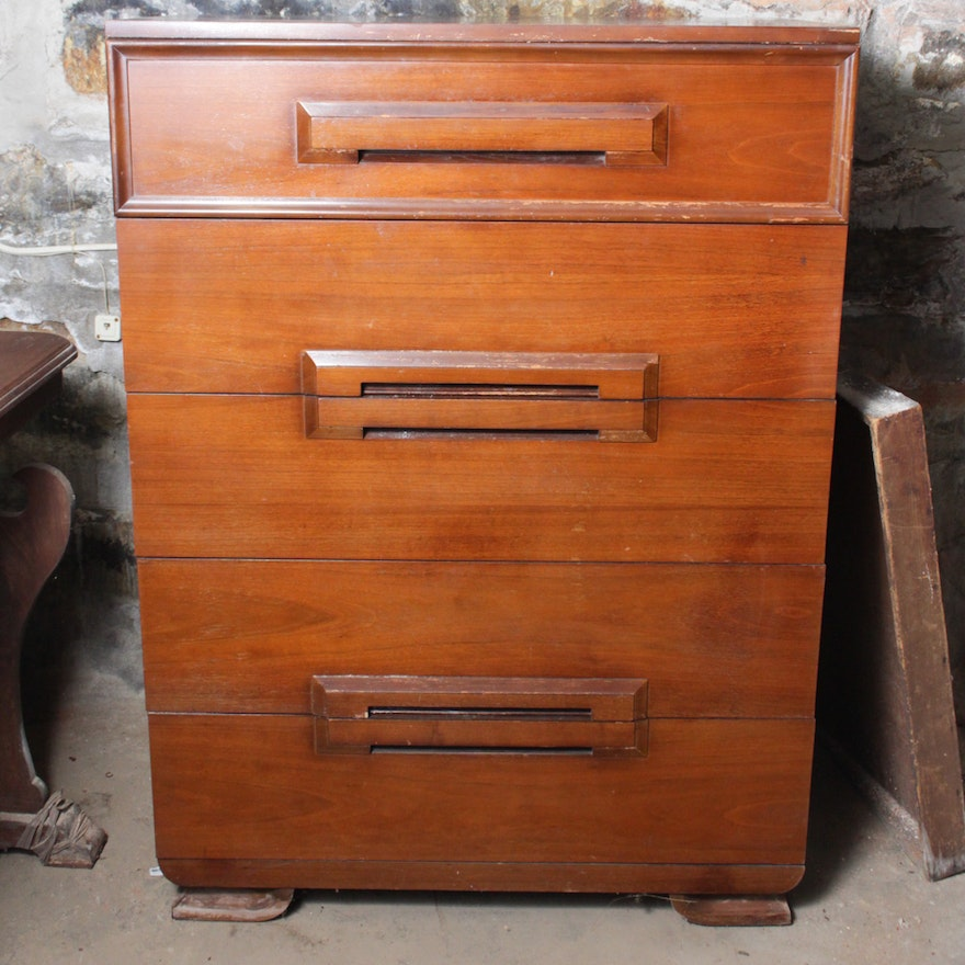 Kroehler Furniture Mid Century Modern Chest Of Drawers Ebth
