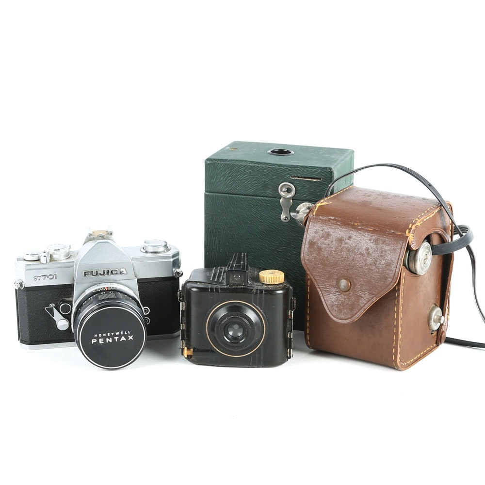 Baby Brownie and Other Vintage Cameras
