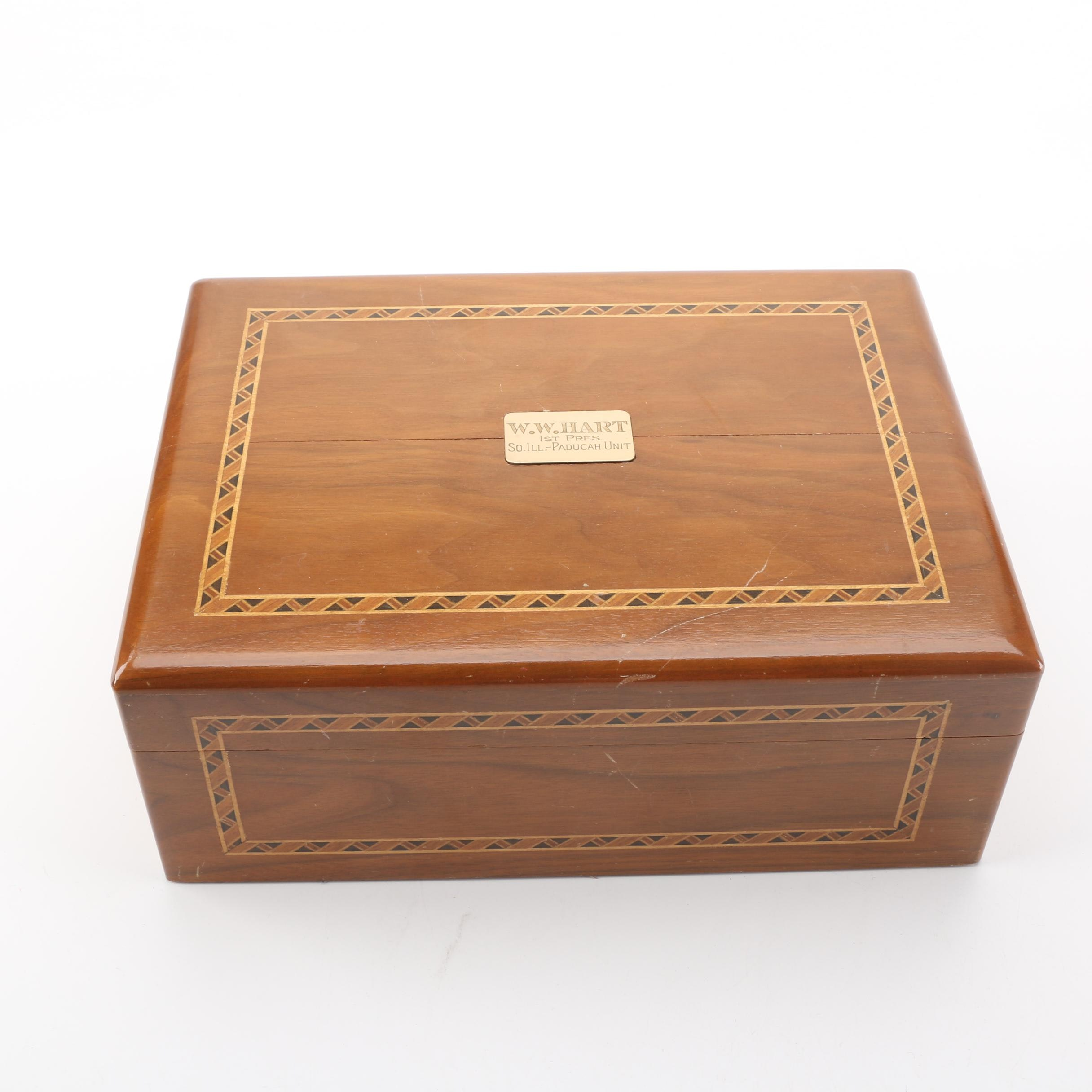 Walnut Humidor by Decatur Industries
