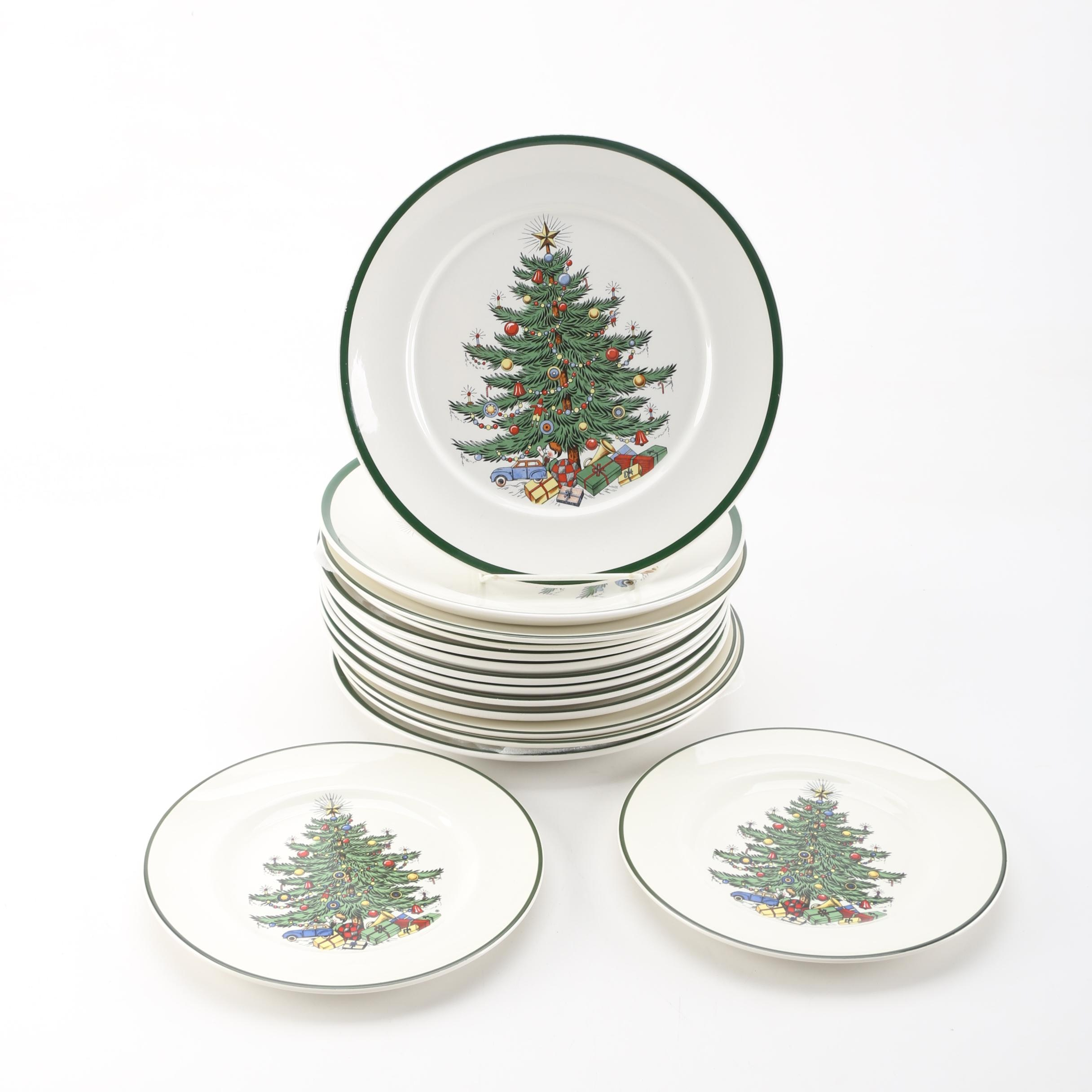 "Cuthbertson ""Original Christmas Tree"" Plates"