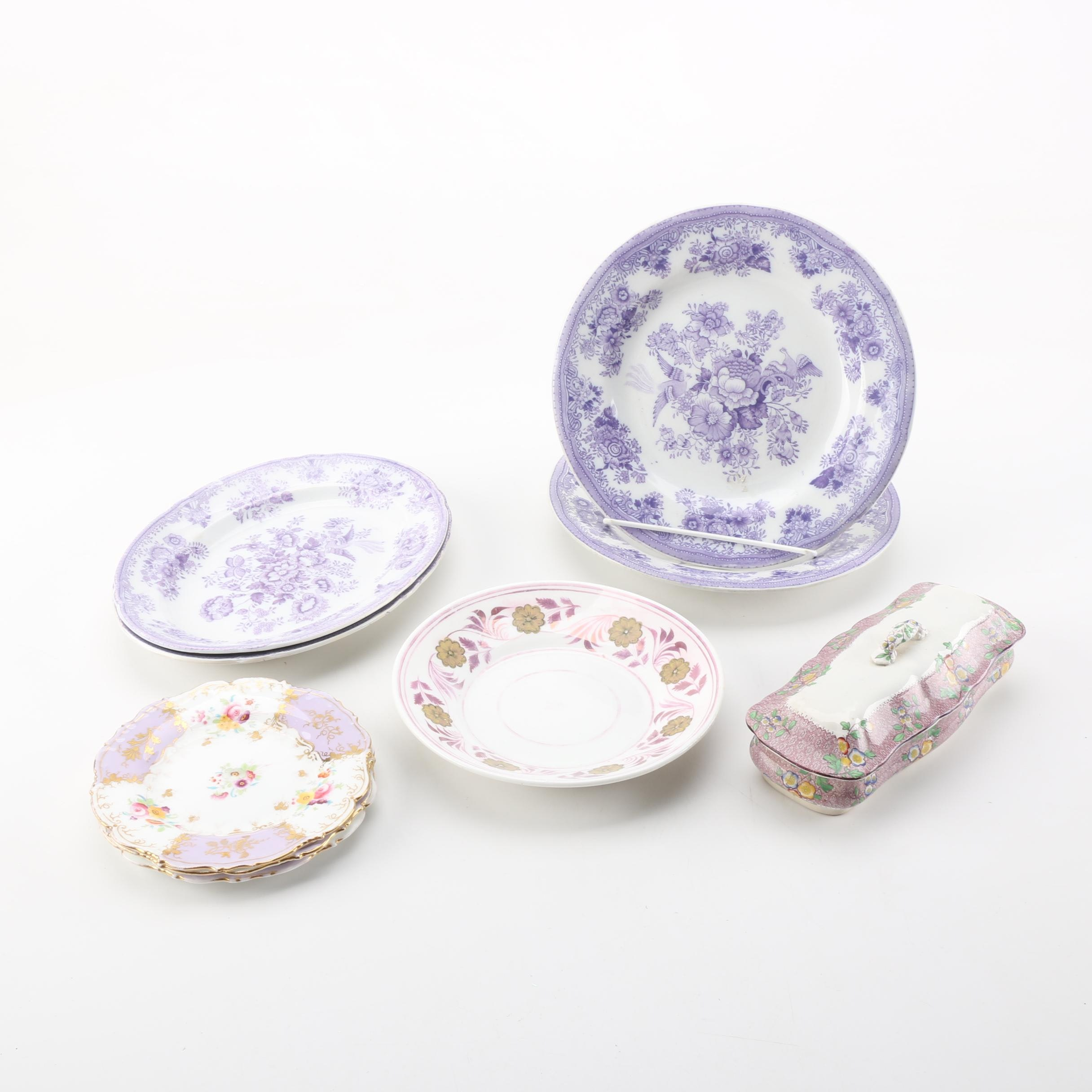 Selection of Porcelain and China Tableware