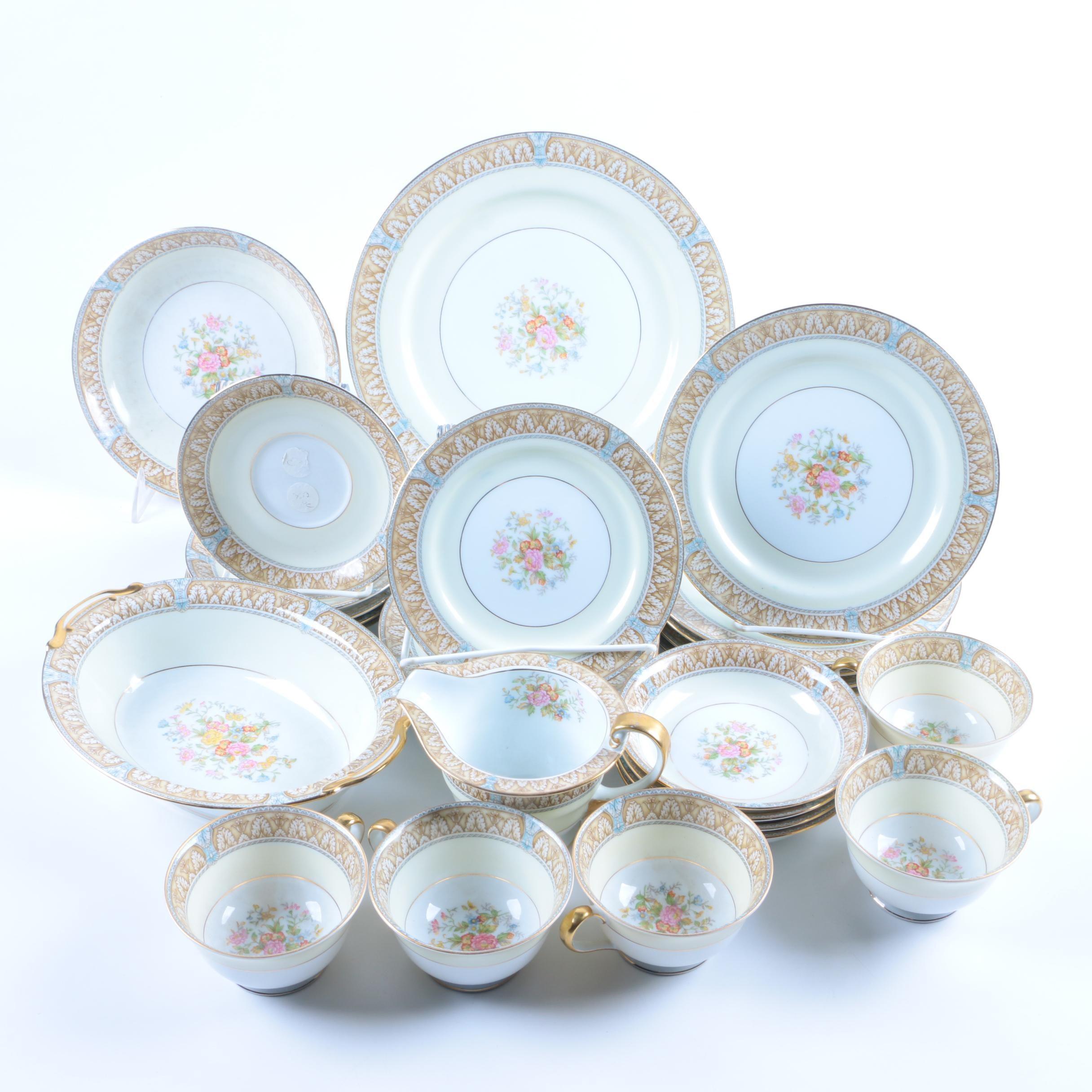 "Noritake ""Claire"" Porcelain Dinnerware"