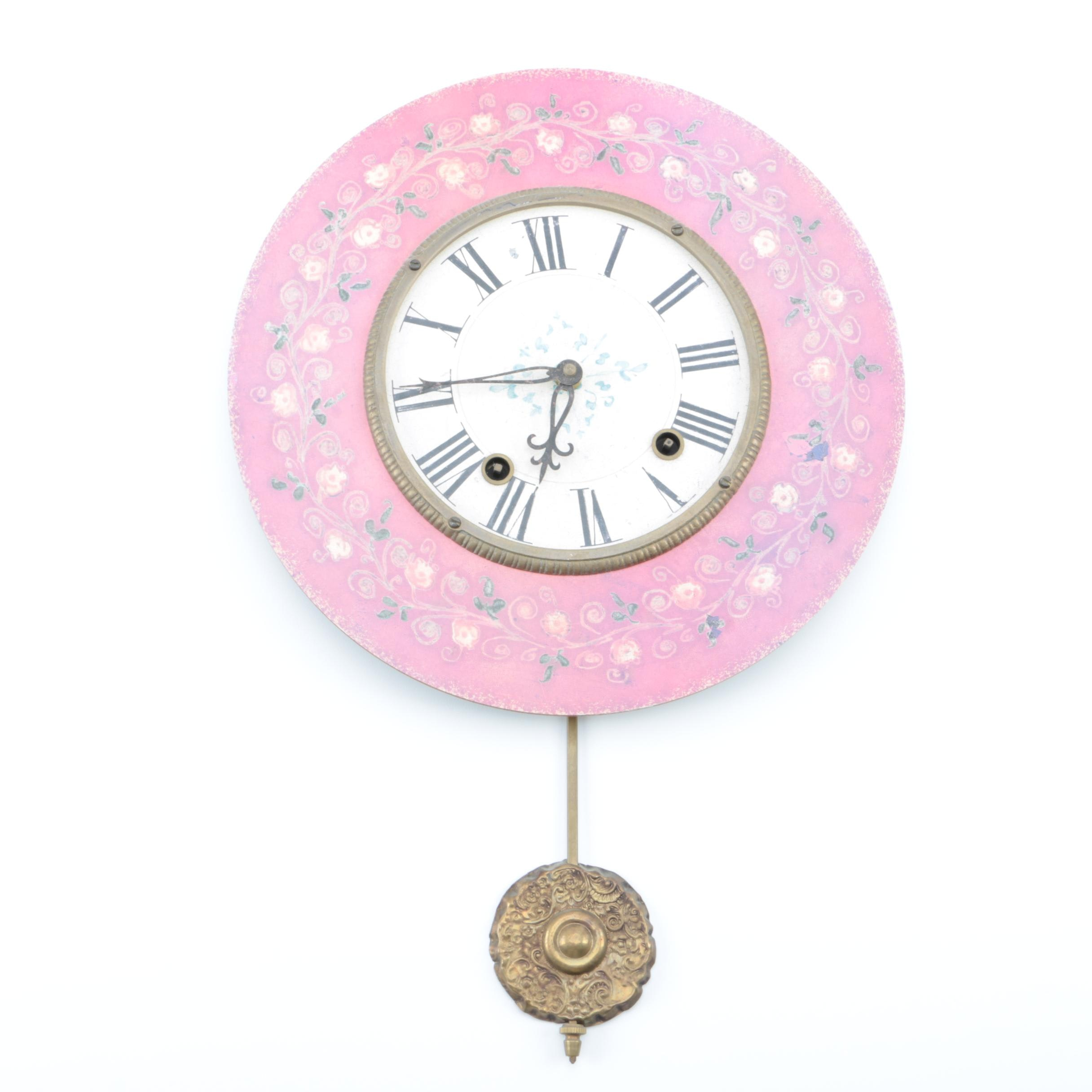 "Timeworks ""French Country"" Wall Clock"