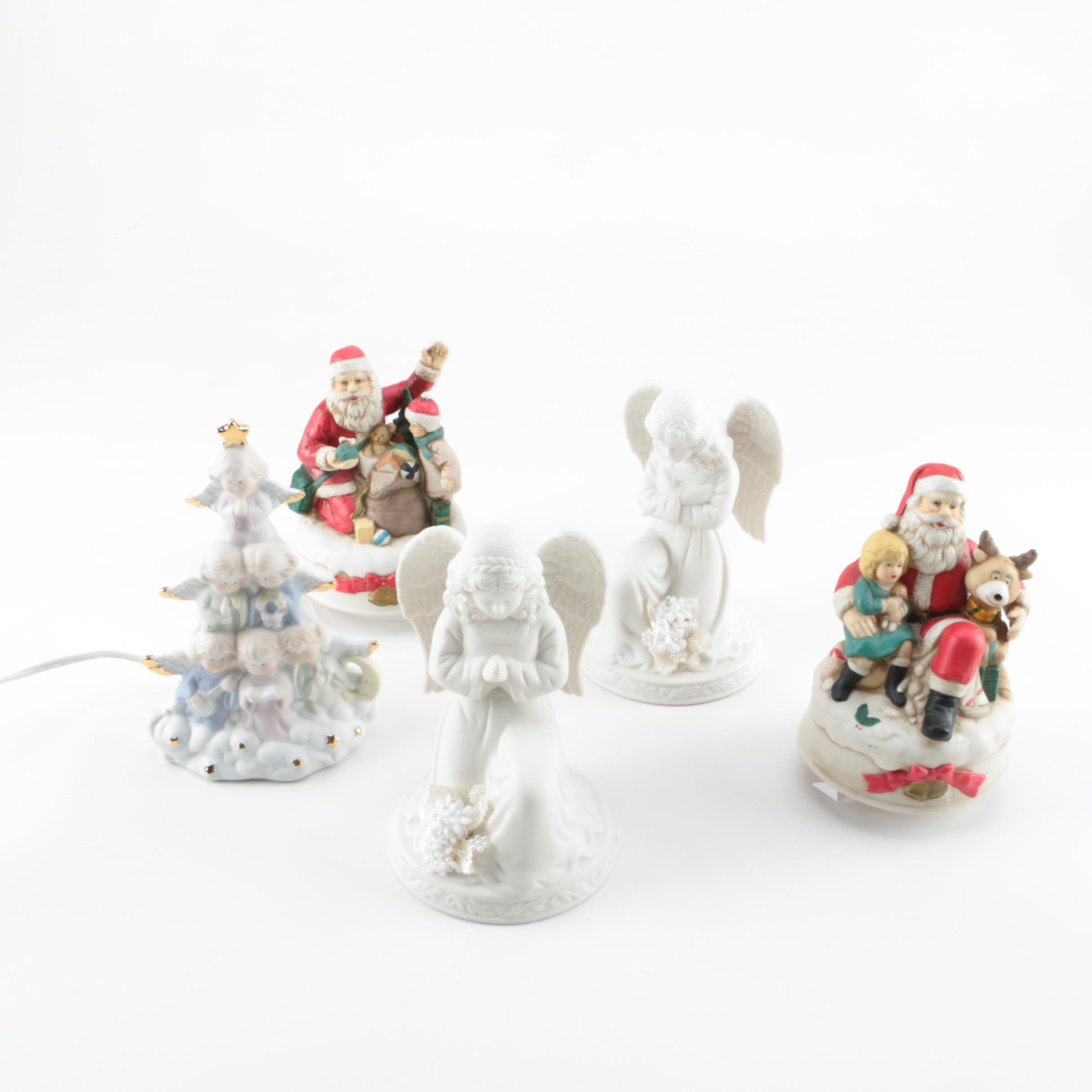 Ceramic Holiday Figurines