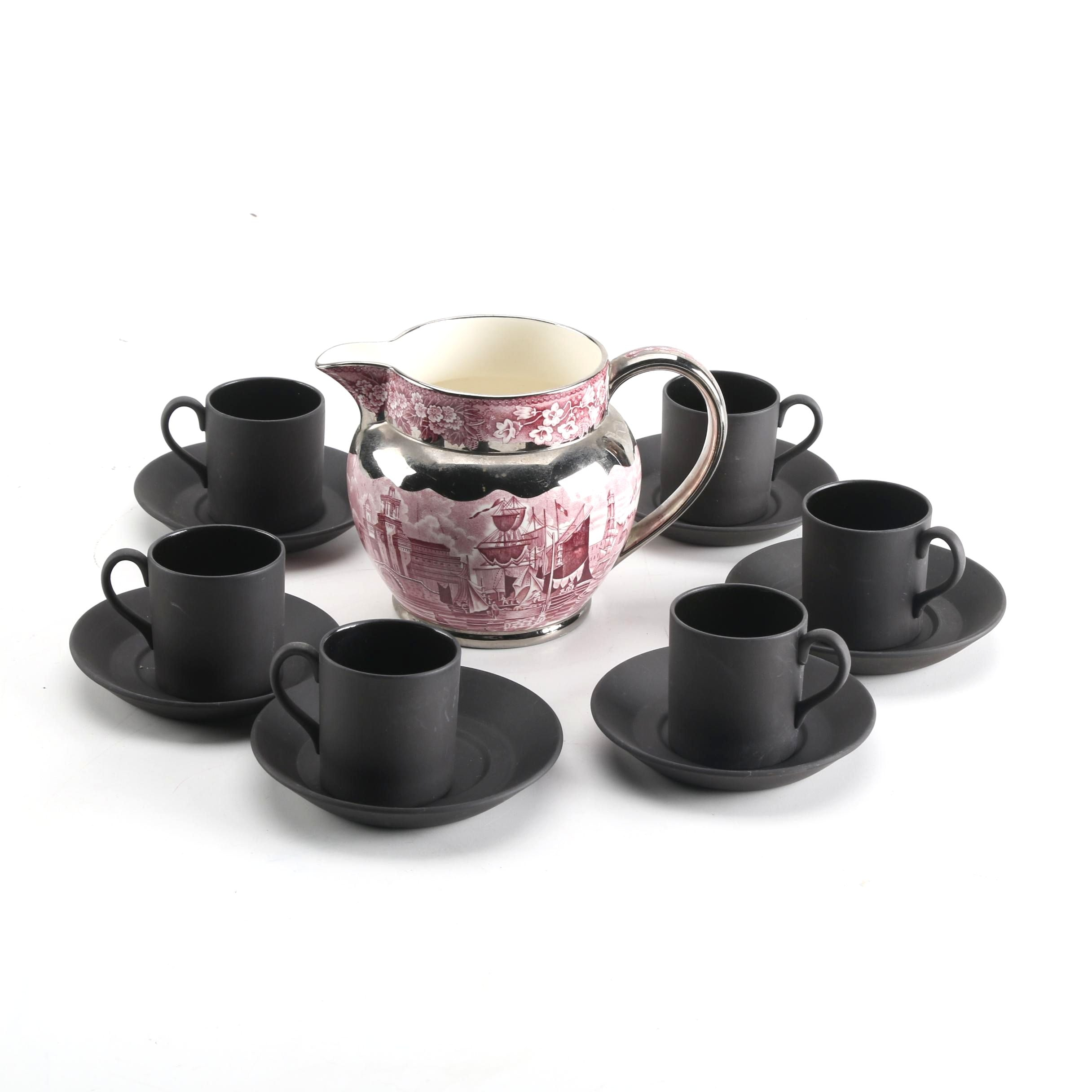 "Wedgwood Tea Set Including ""Ferrara"""