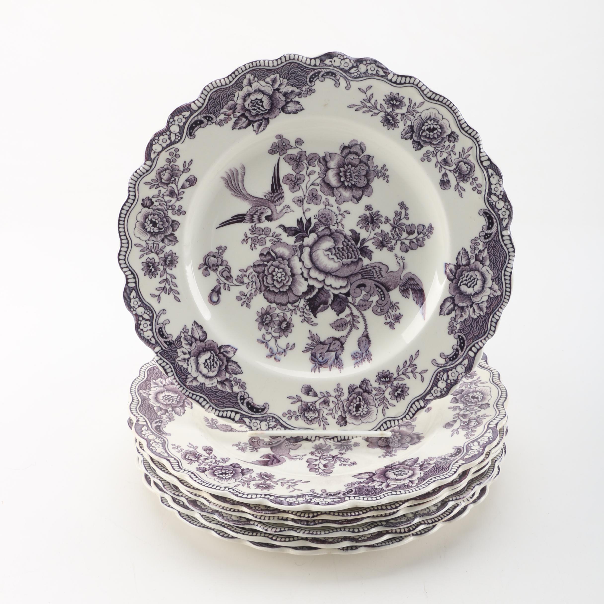 "Vintage Crown Ducal ""Bristol"" Plates"