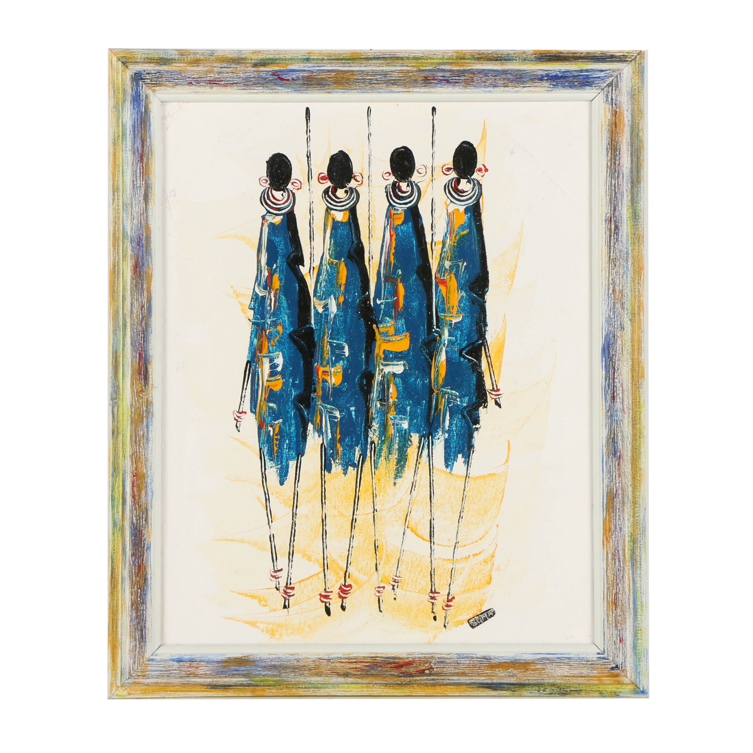 Suma Acrylic Painting on Canvas