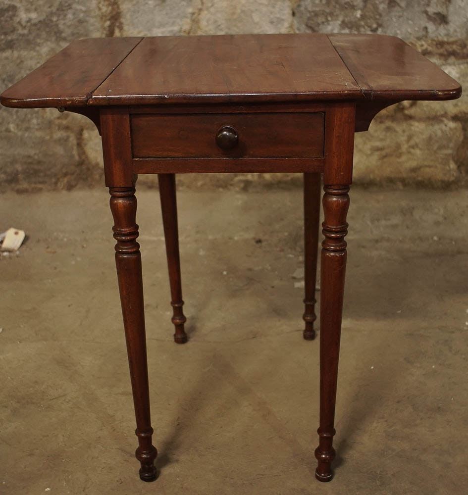 Vintage Drop Leaf Side Table ...