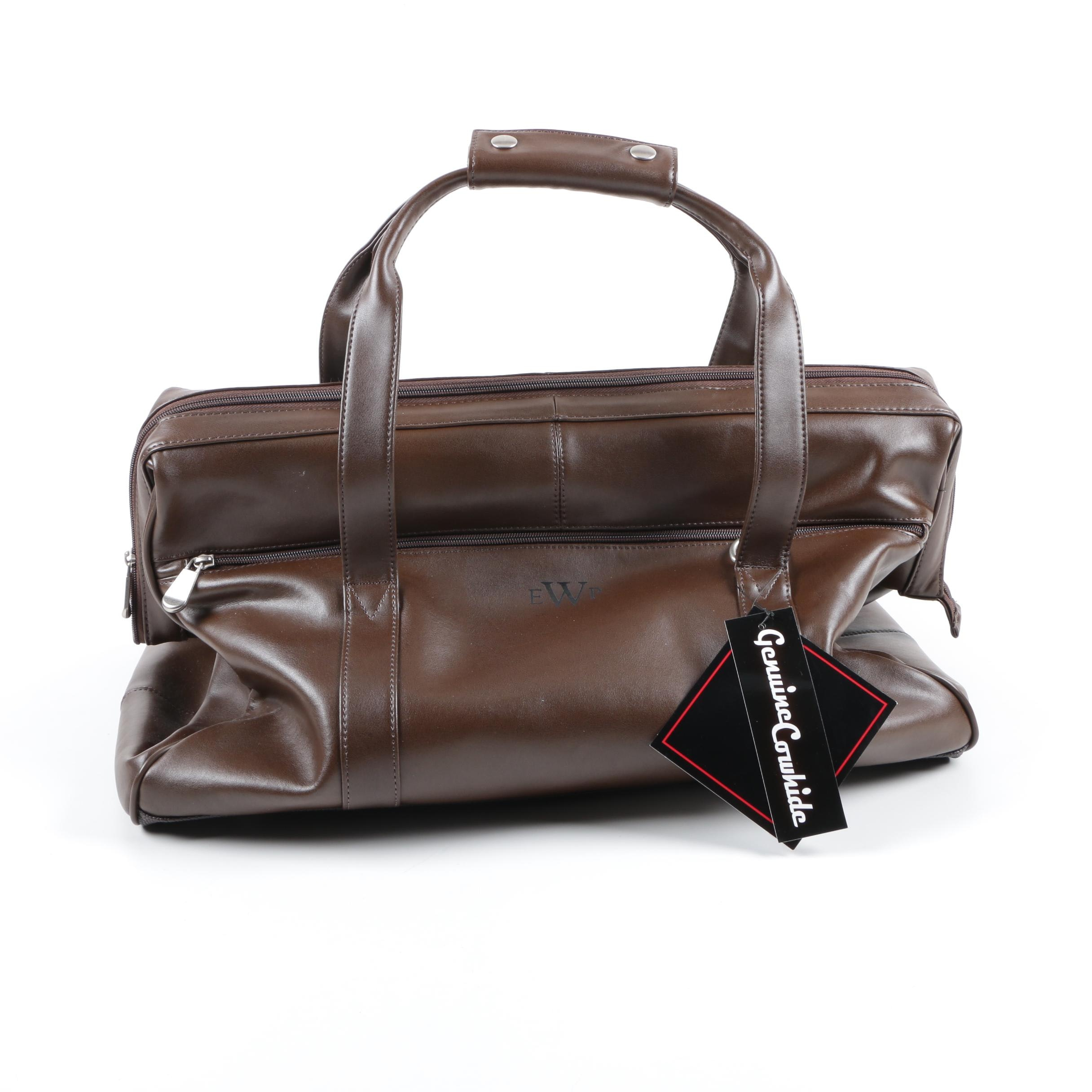 Kluge Leather Duffel Bag