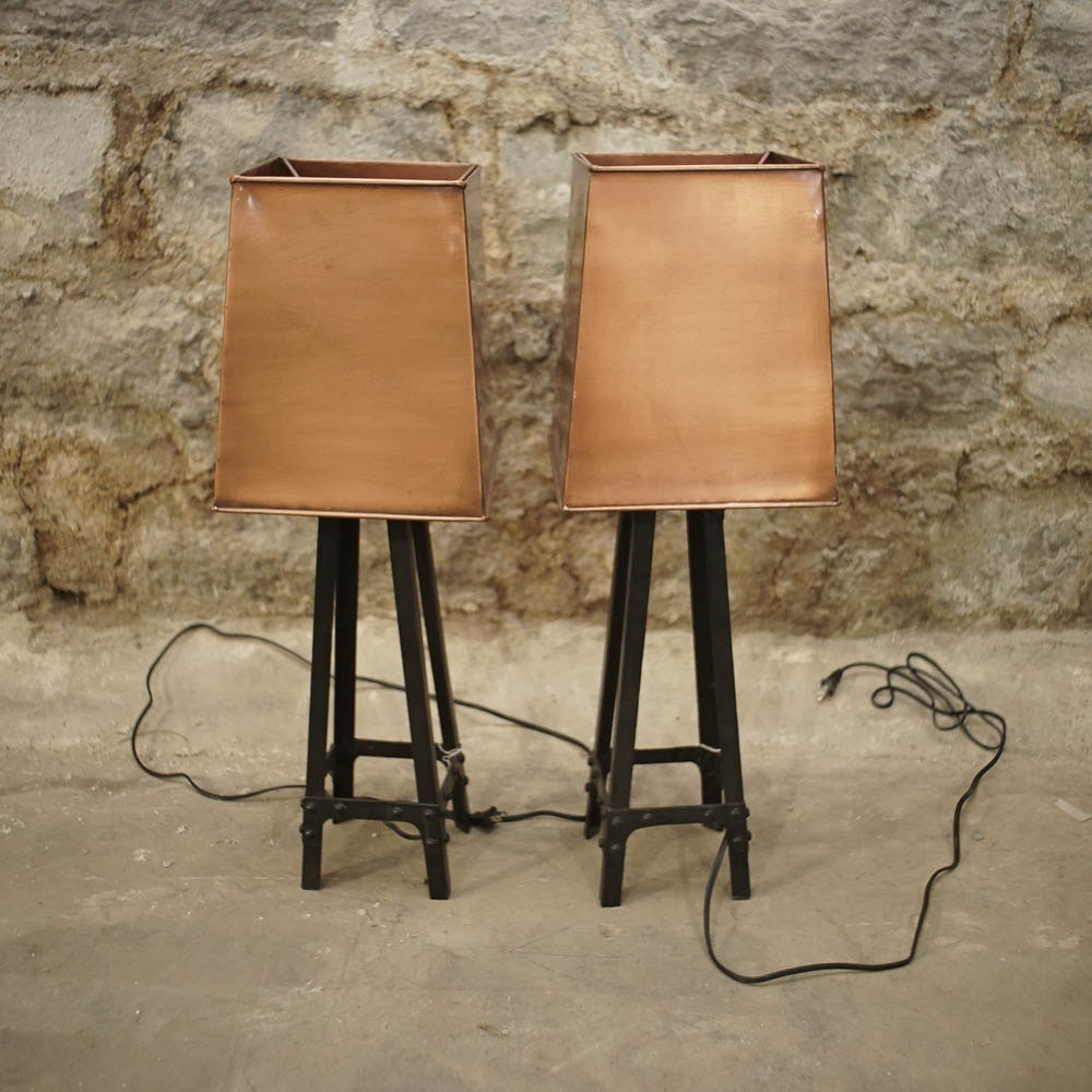 Industrial Style Table Lamps