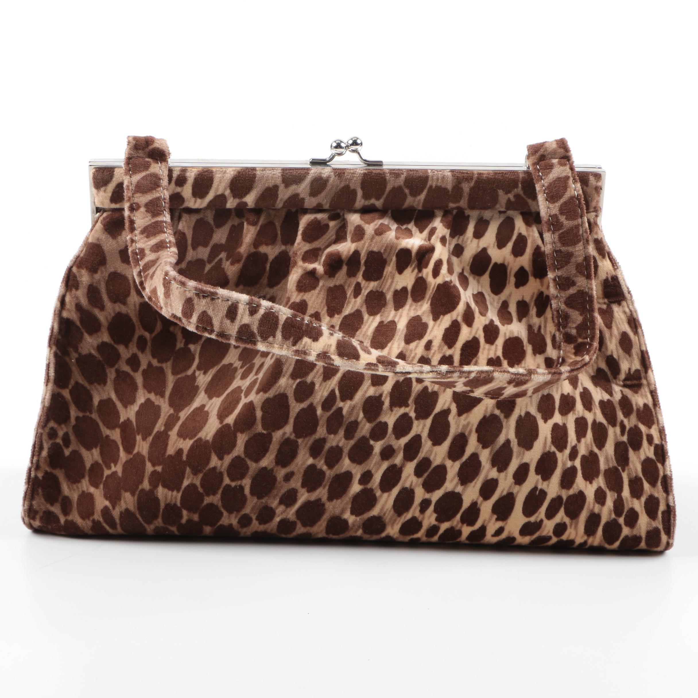 Dolce & Gabbana Cheetah Print Purse