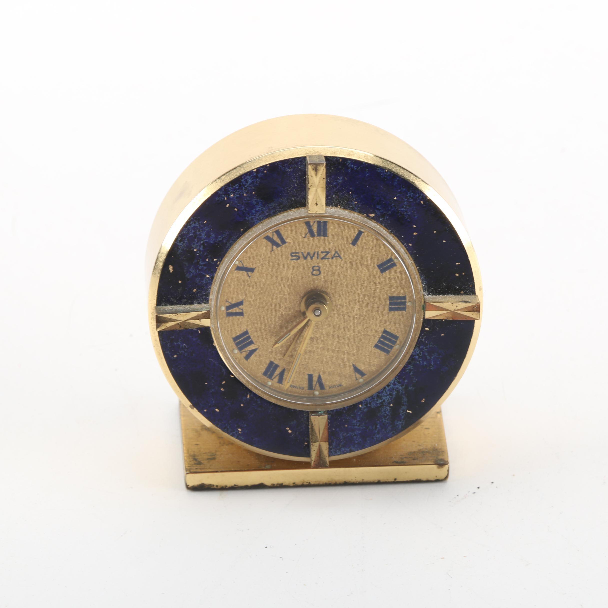 Vintage Swiza Alarm Clock