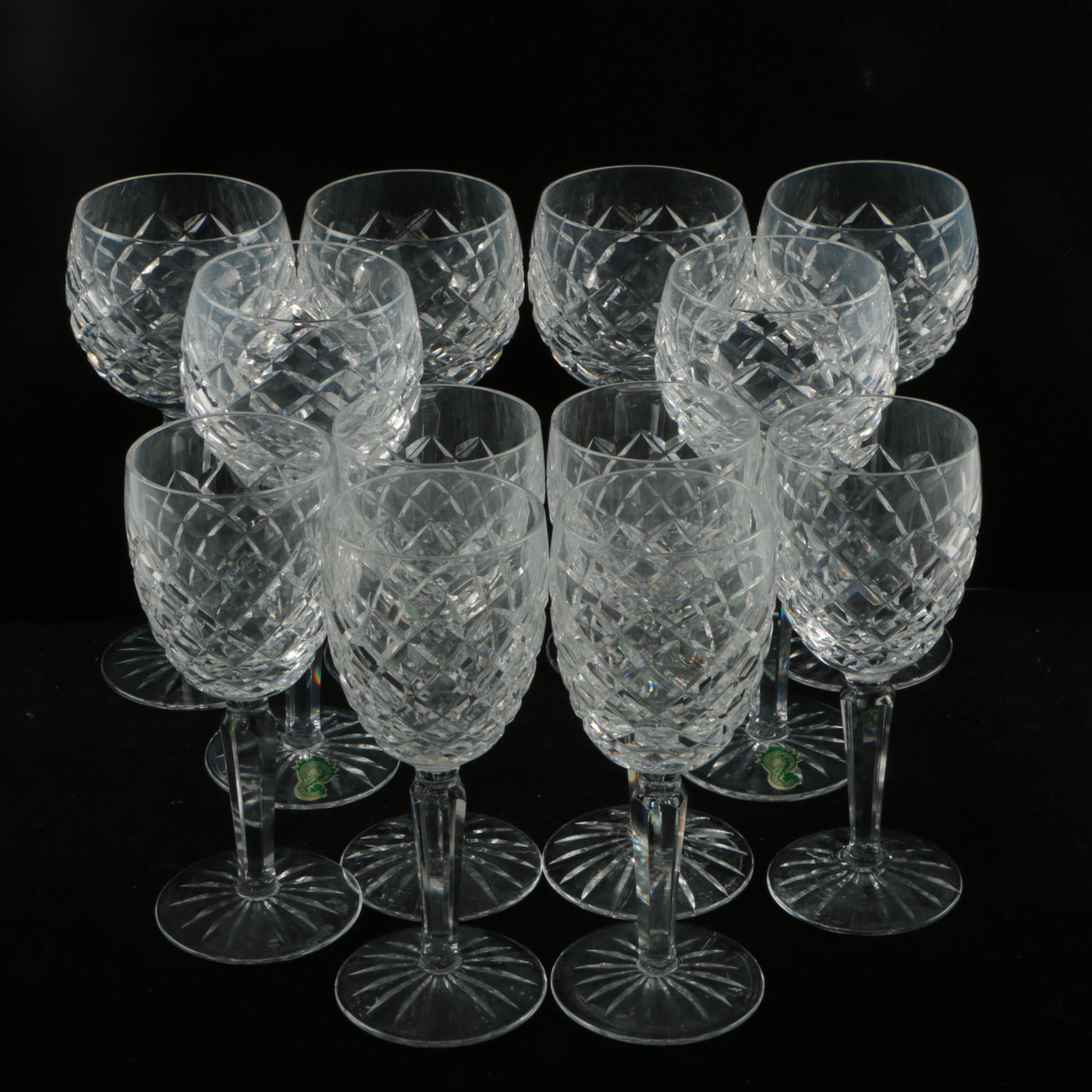 """Waterford Crystal """"Comeragh"""" Stemware"""