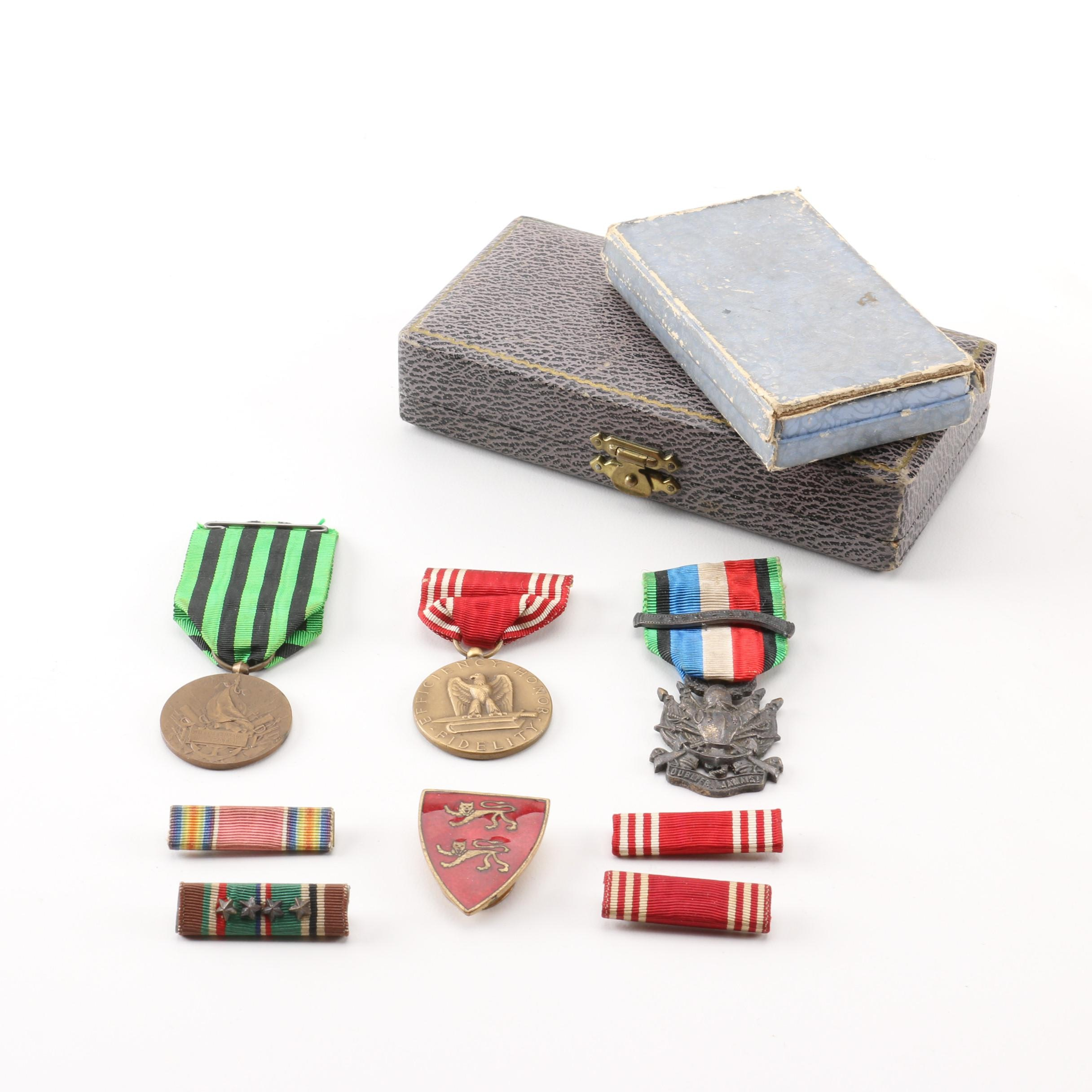French and United States Military Decorations