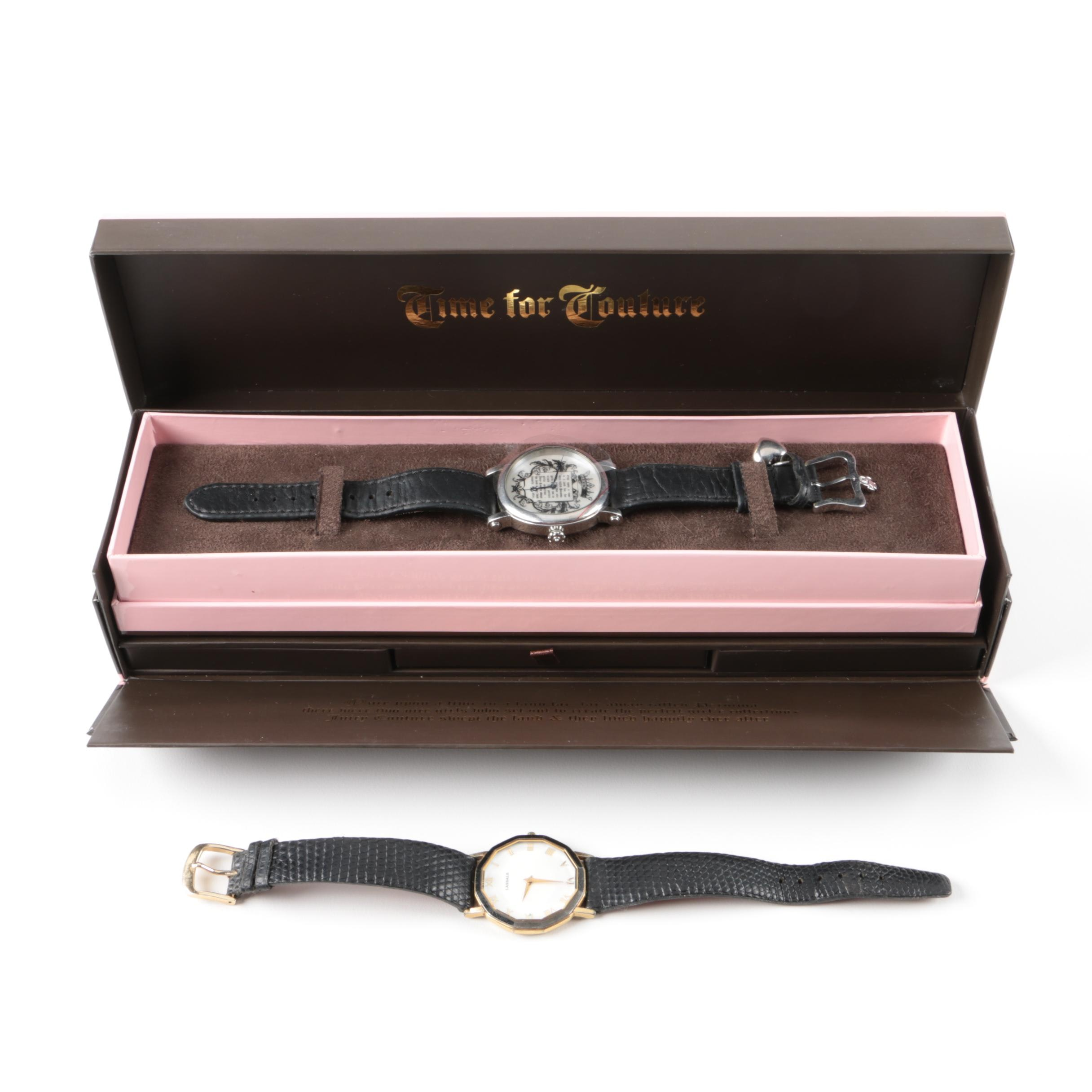 Pairing of Stainless Steel Wristwatches Including Juicy Couture