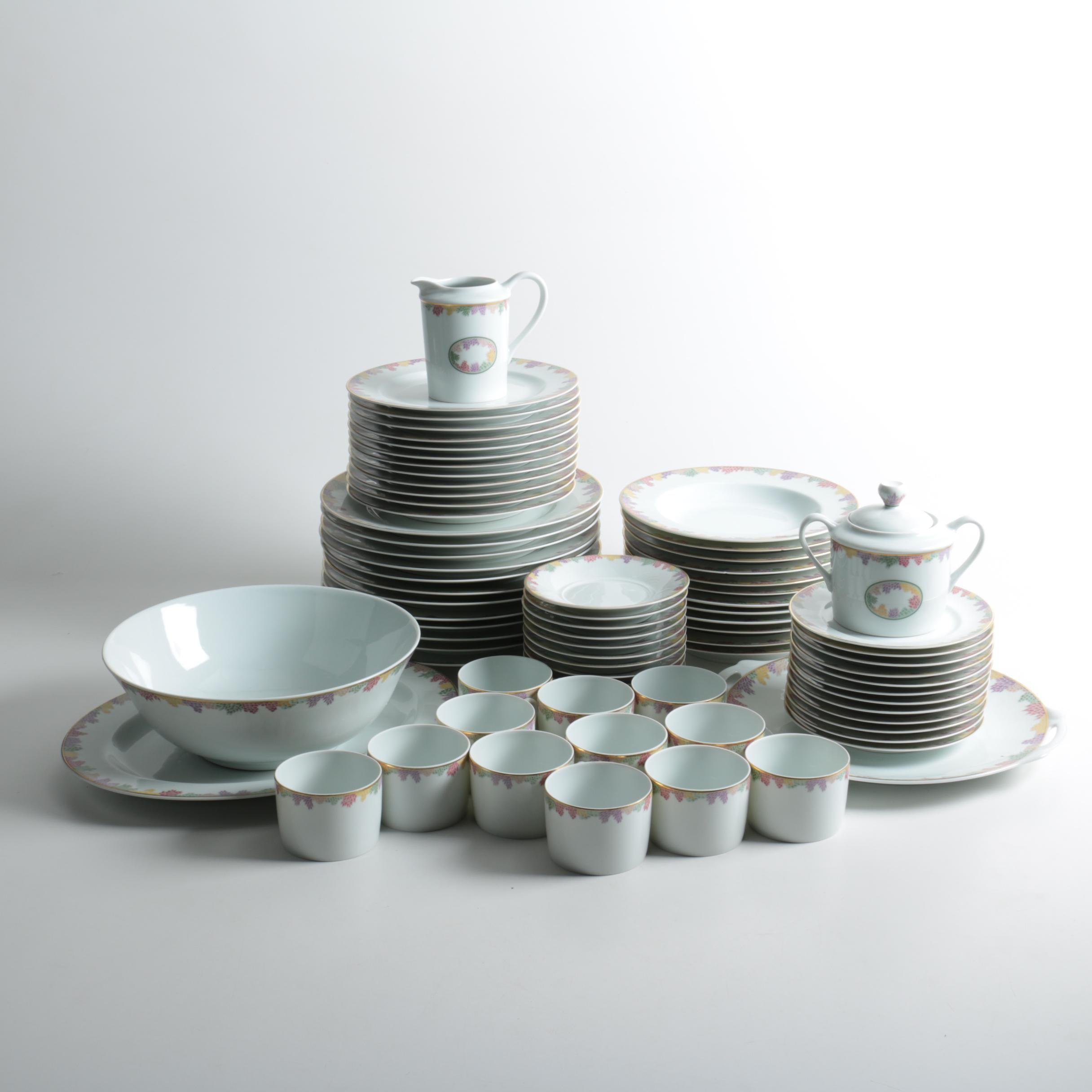 "Bernardaud Limoges ""Bel Ami"" Porcelain Tableware"
