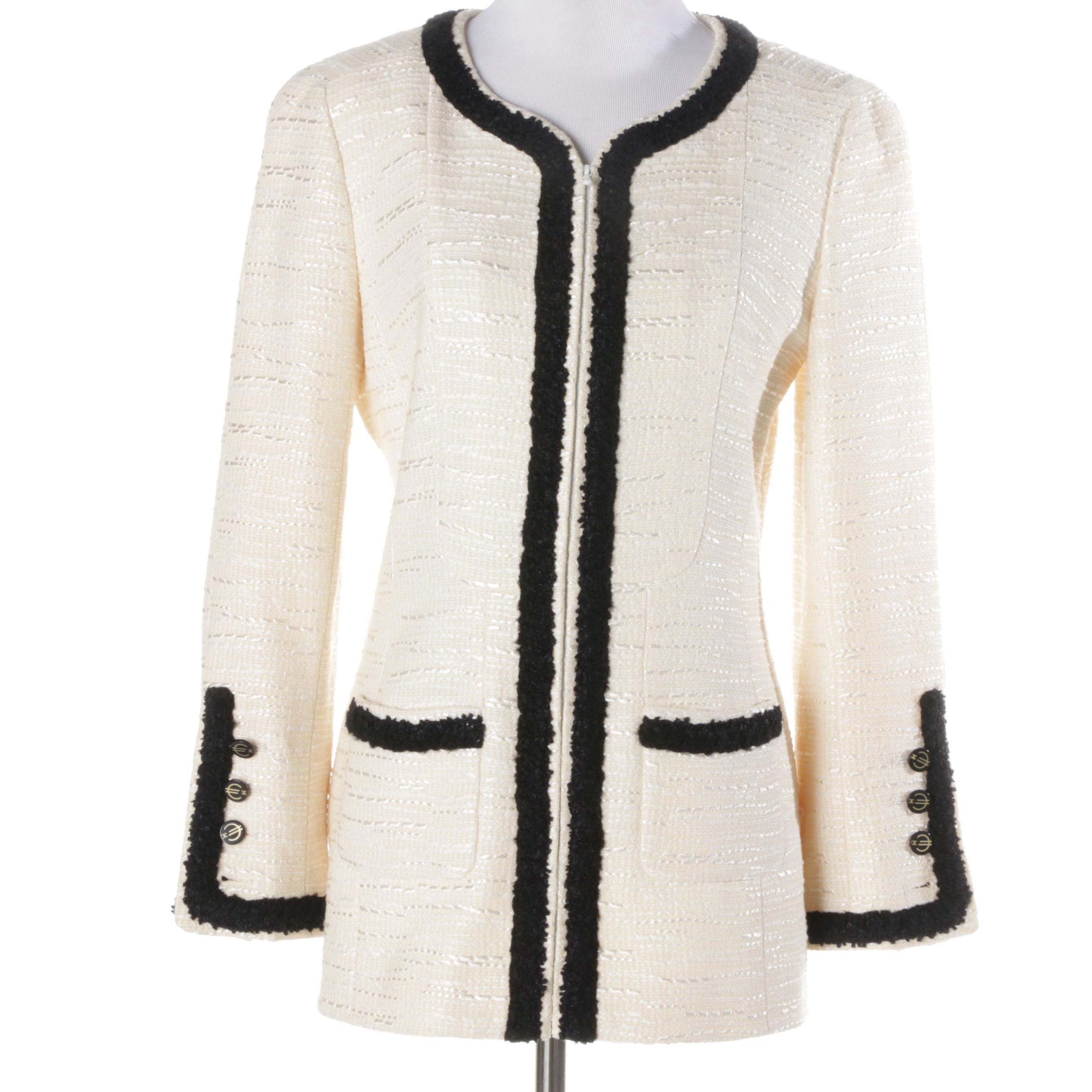 Women's Chanel Wool Blend Jacket