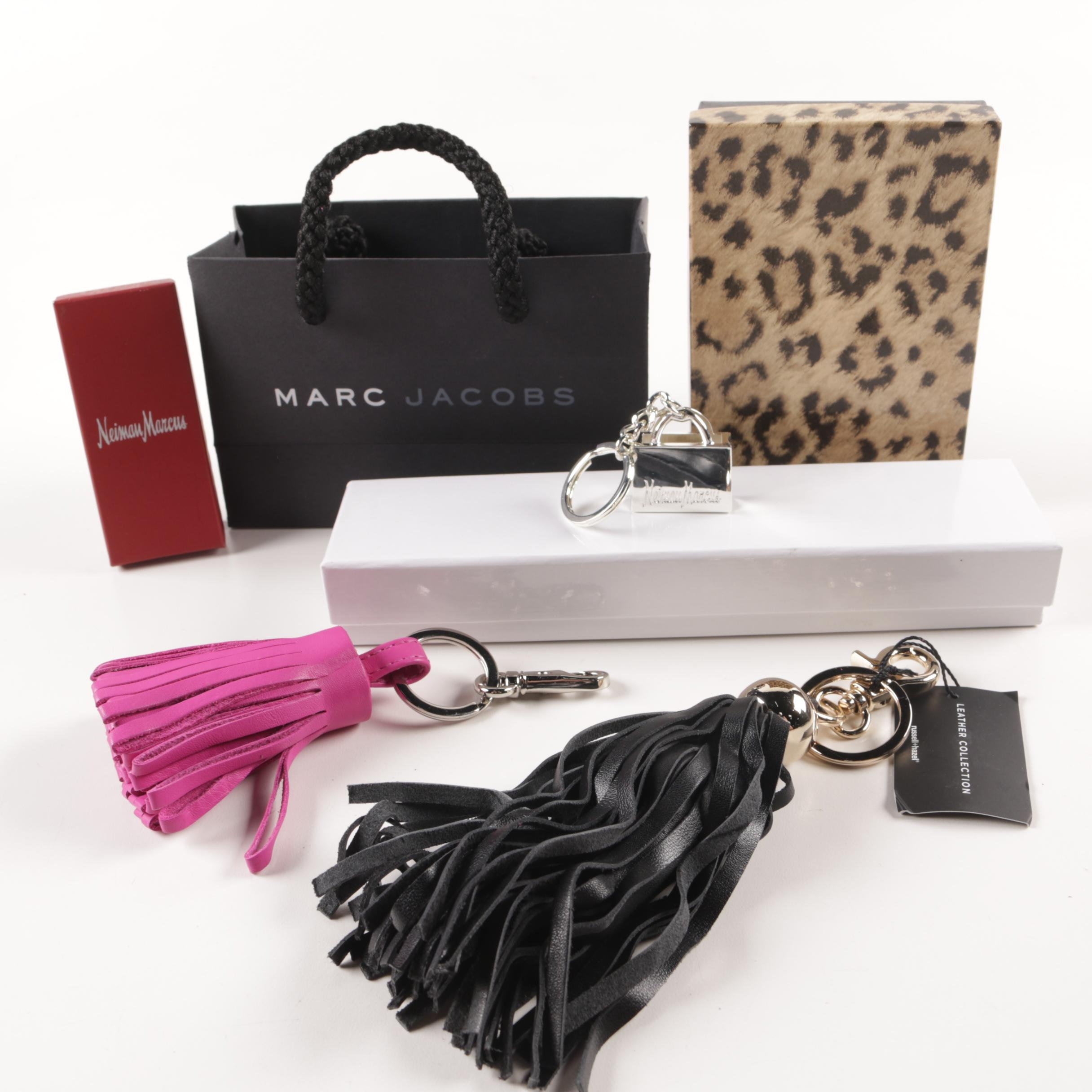 Marc Jacobs and Neiman Marcus Tassel Key Chains