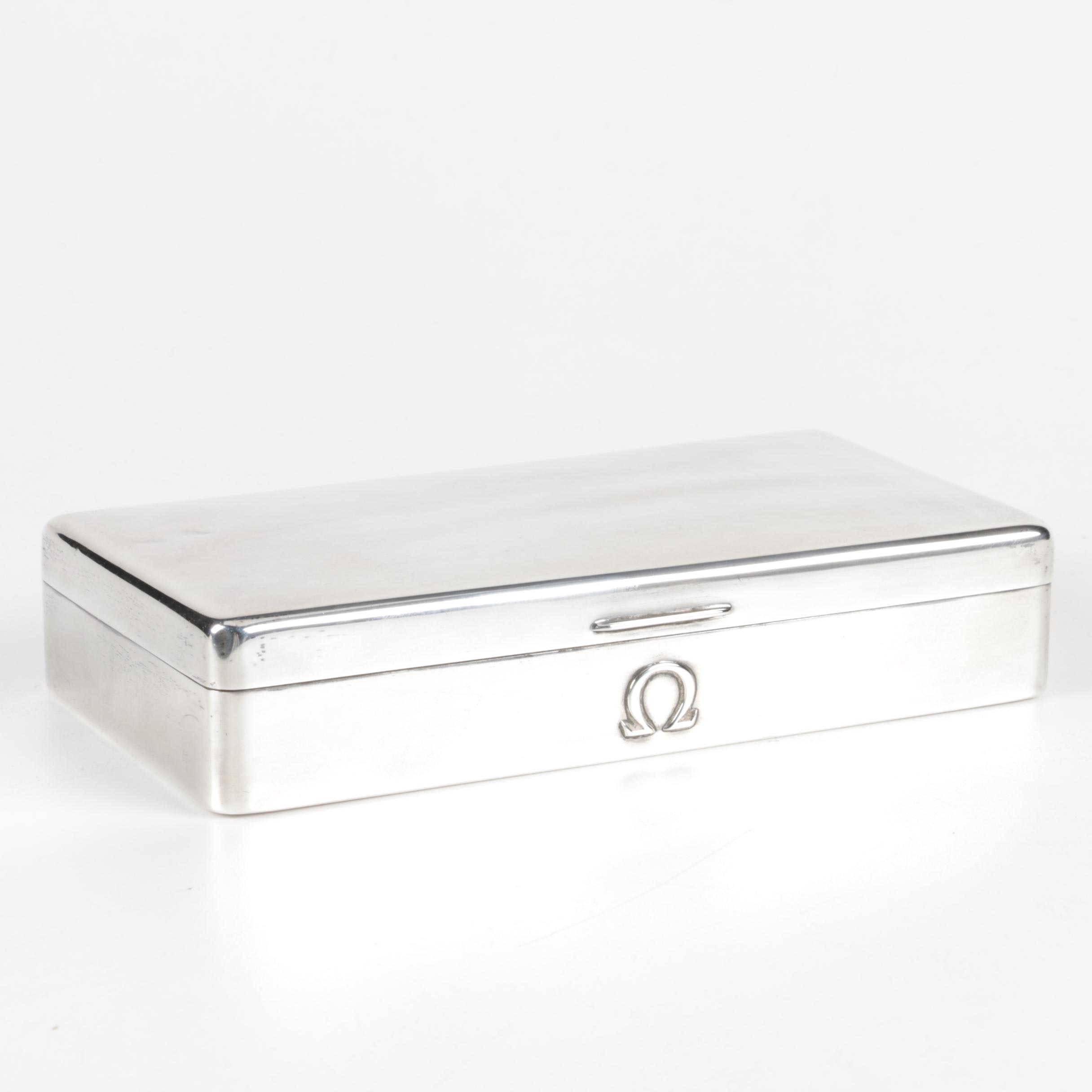 1950 Adie Brothers Ltd. Sterling Silver Box