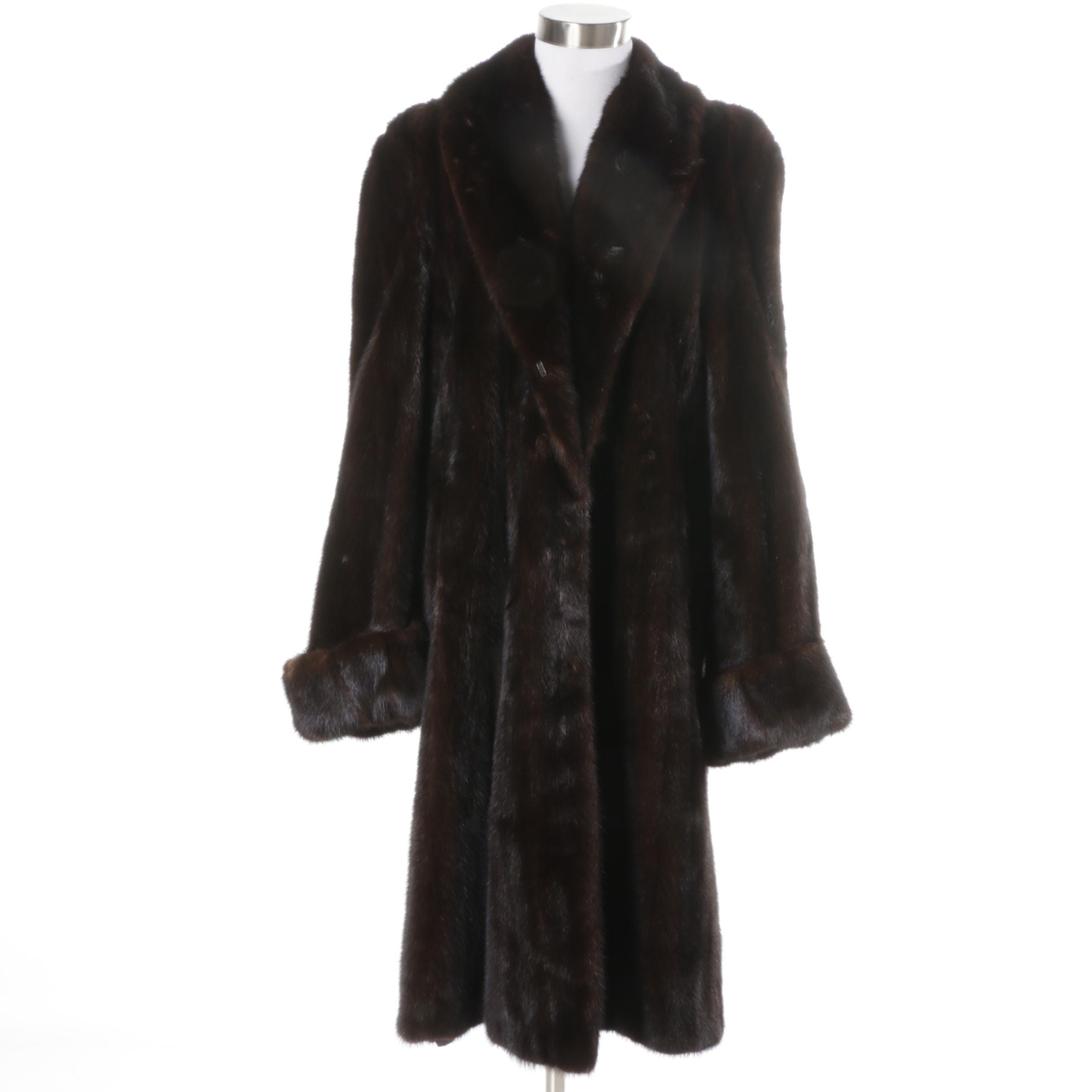 De La Roca Saga Mink Fur Coat