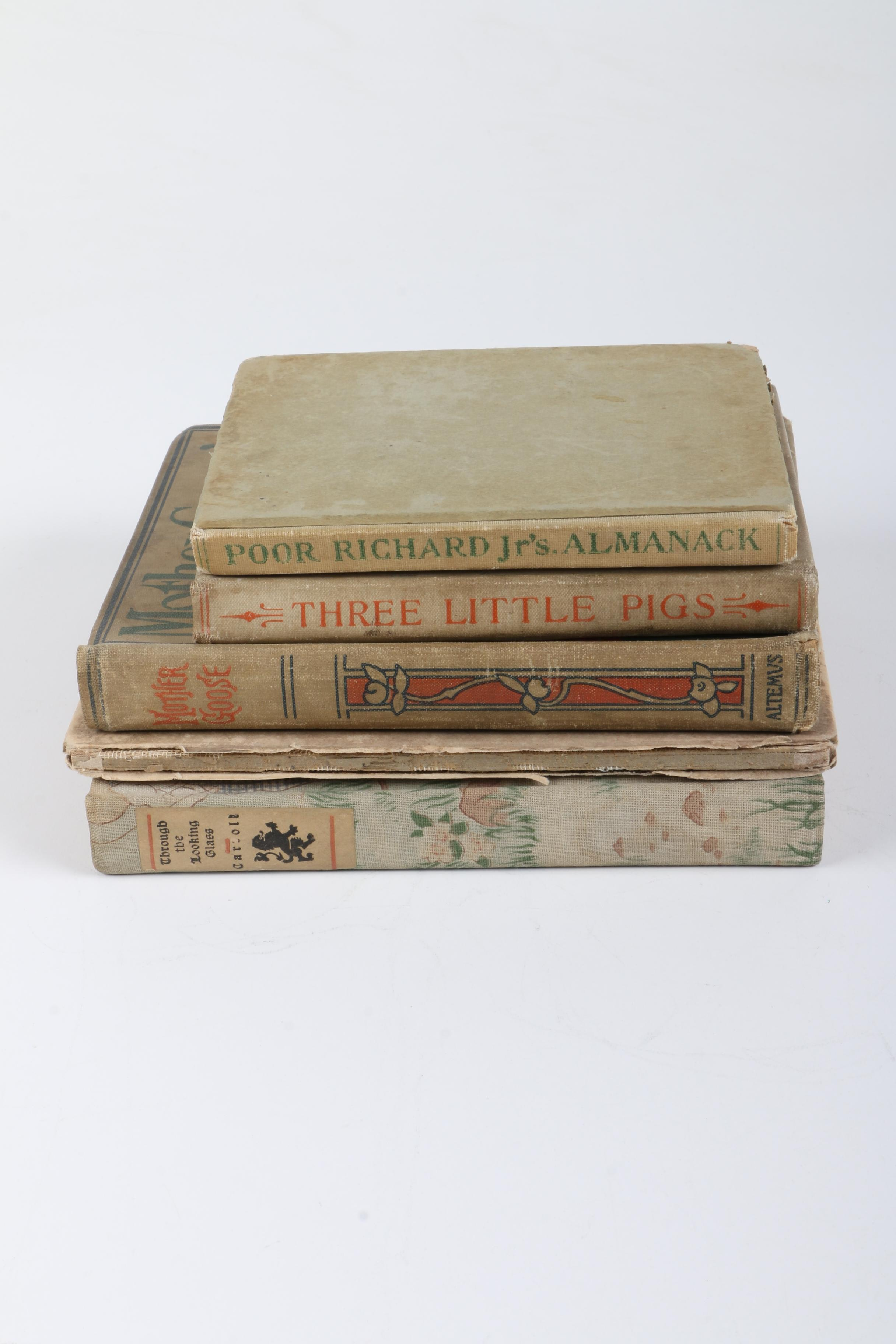 Antique Children's Fiction and Poetry Books