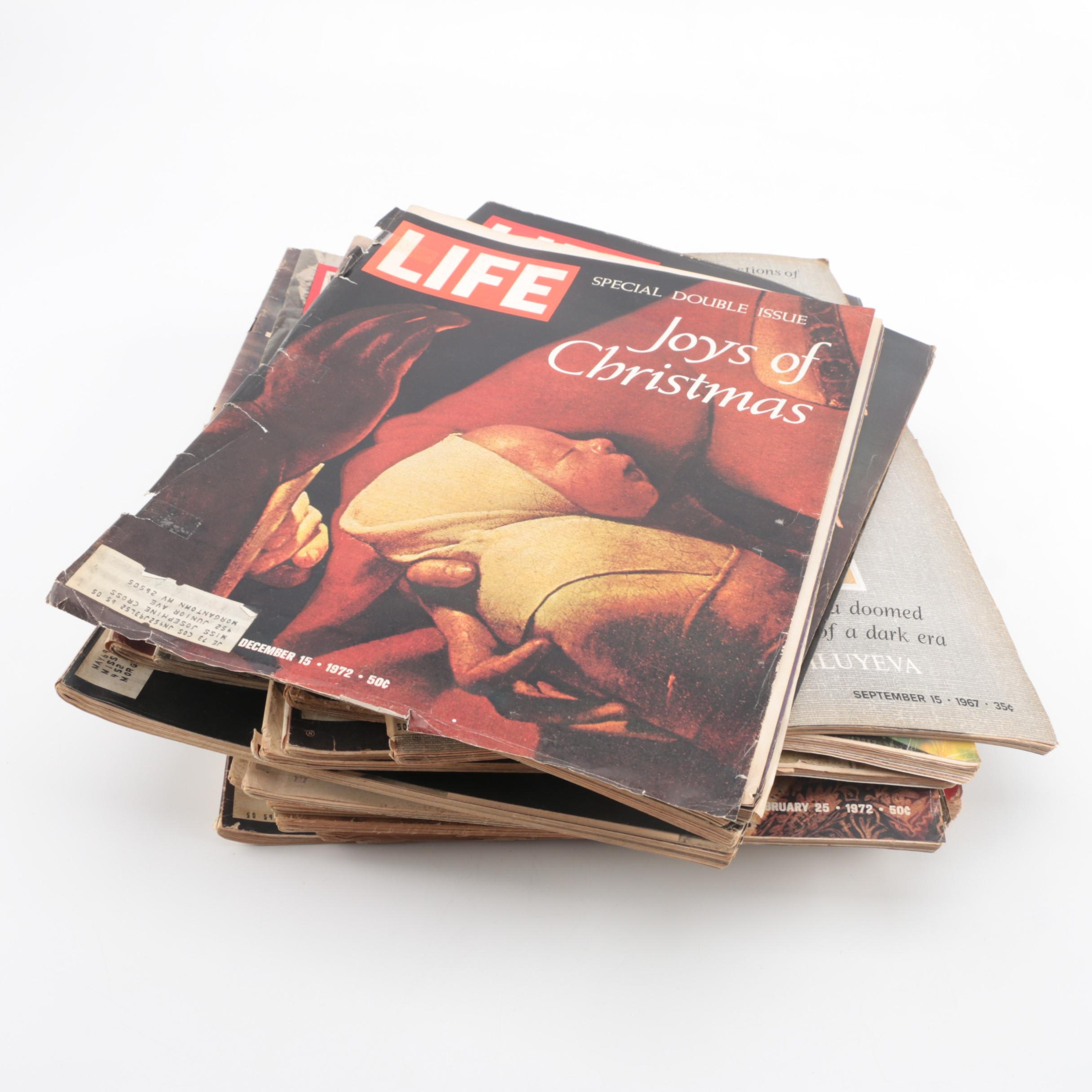 "Collection of ""Life"" Magazines"