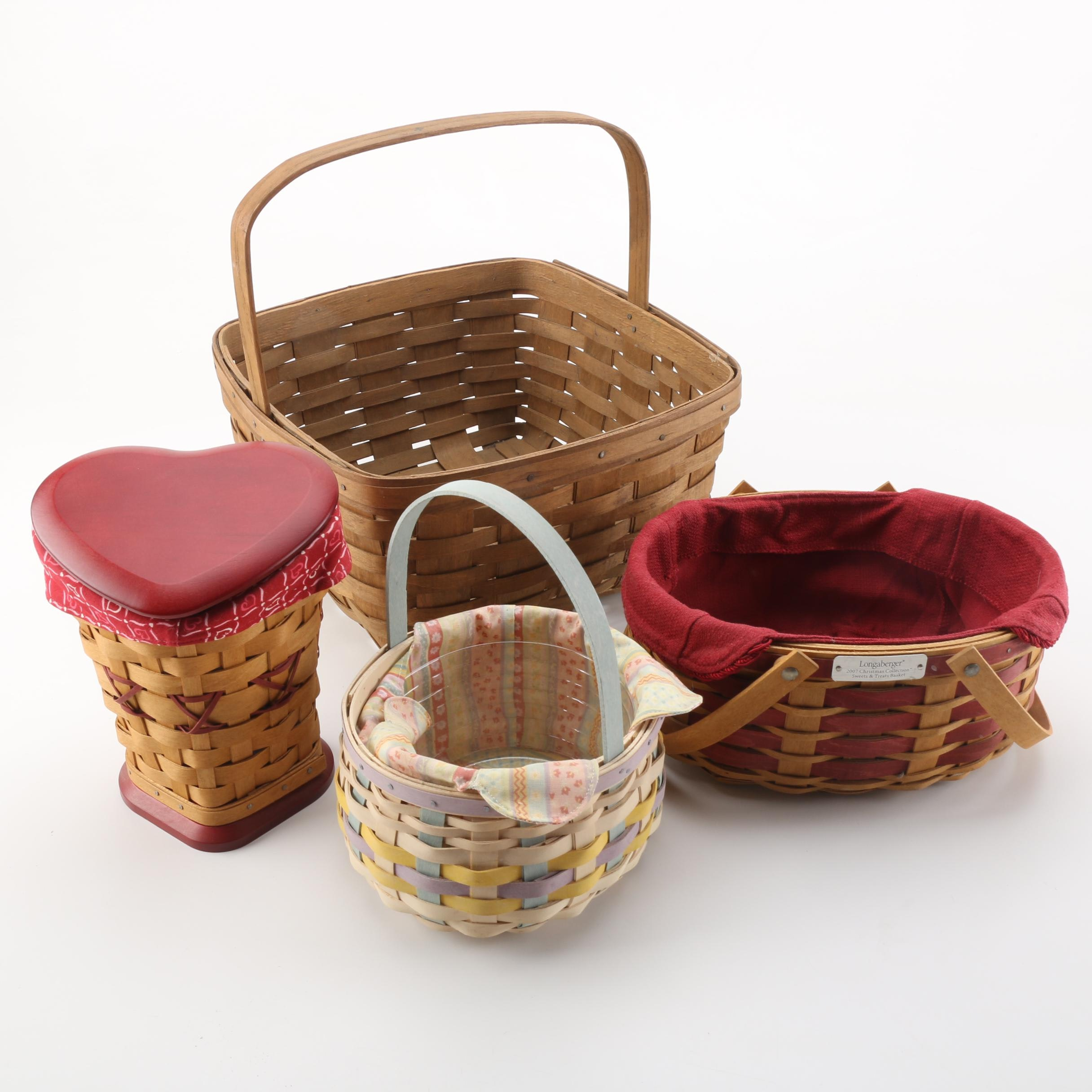 Woven Baskets featuring Longaberger