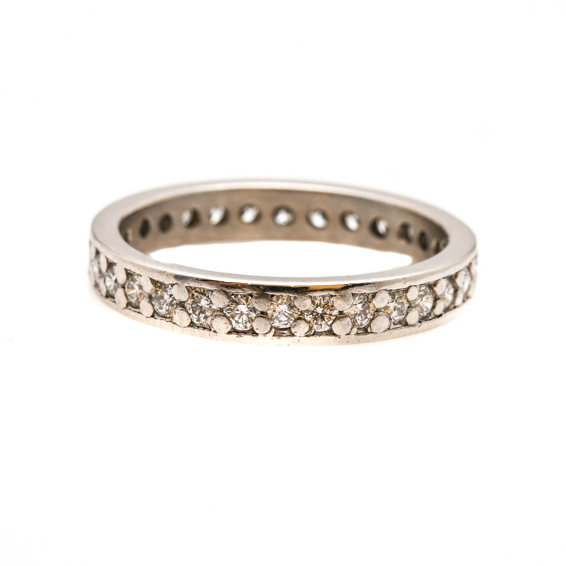Platinum Diamond Eternity Ring Band